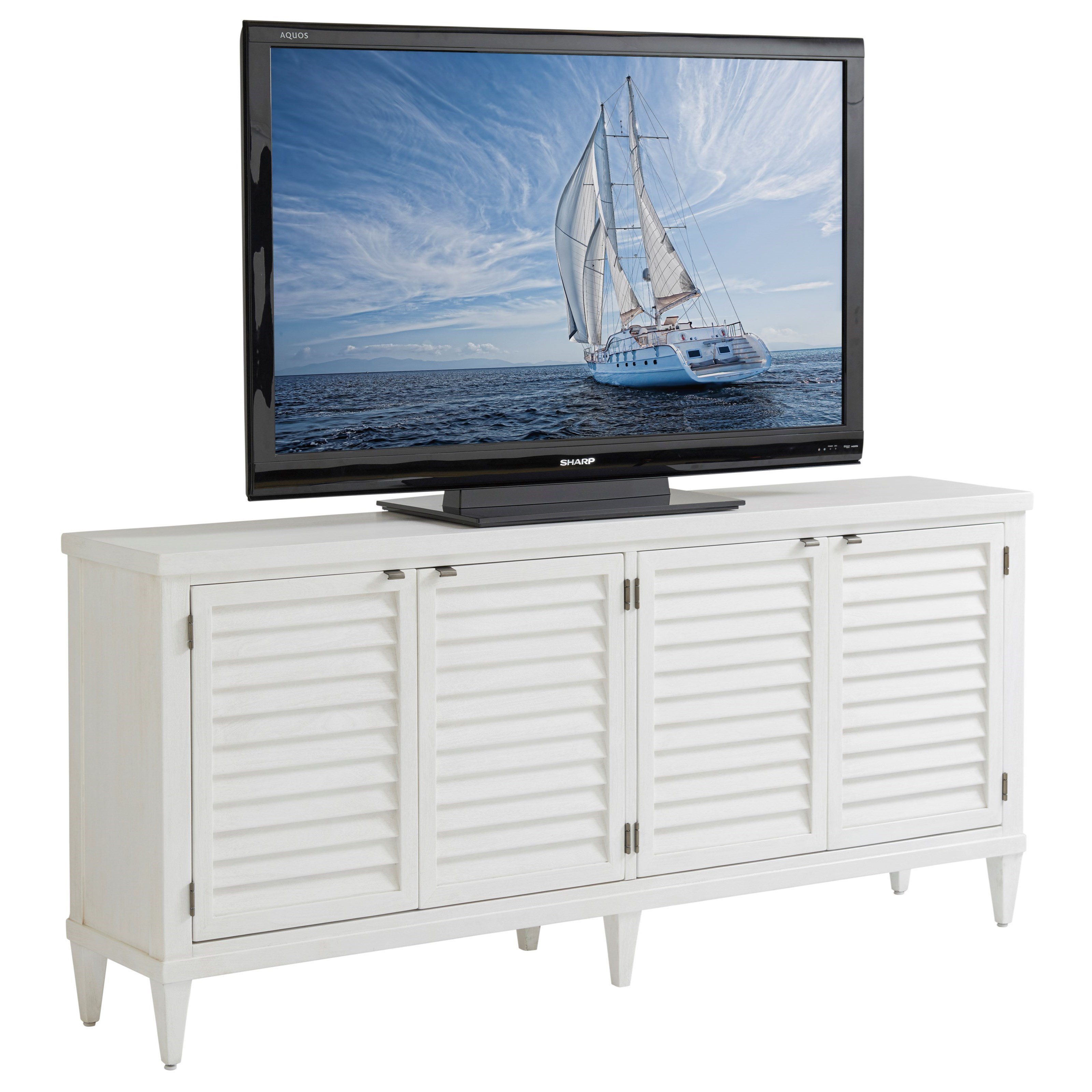 Ocean Breeze Lantern Bay Media Console by Tommy Bahama Home at Baer's Furniture