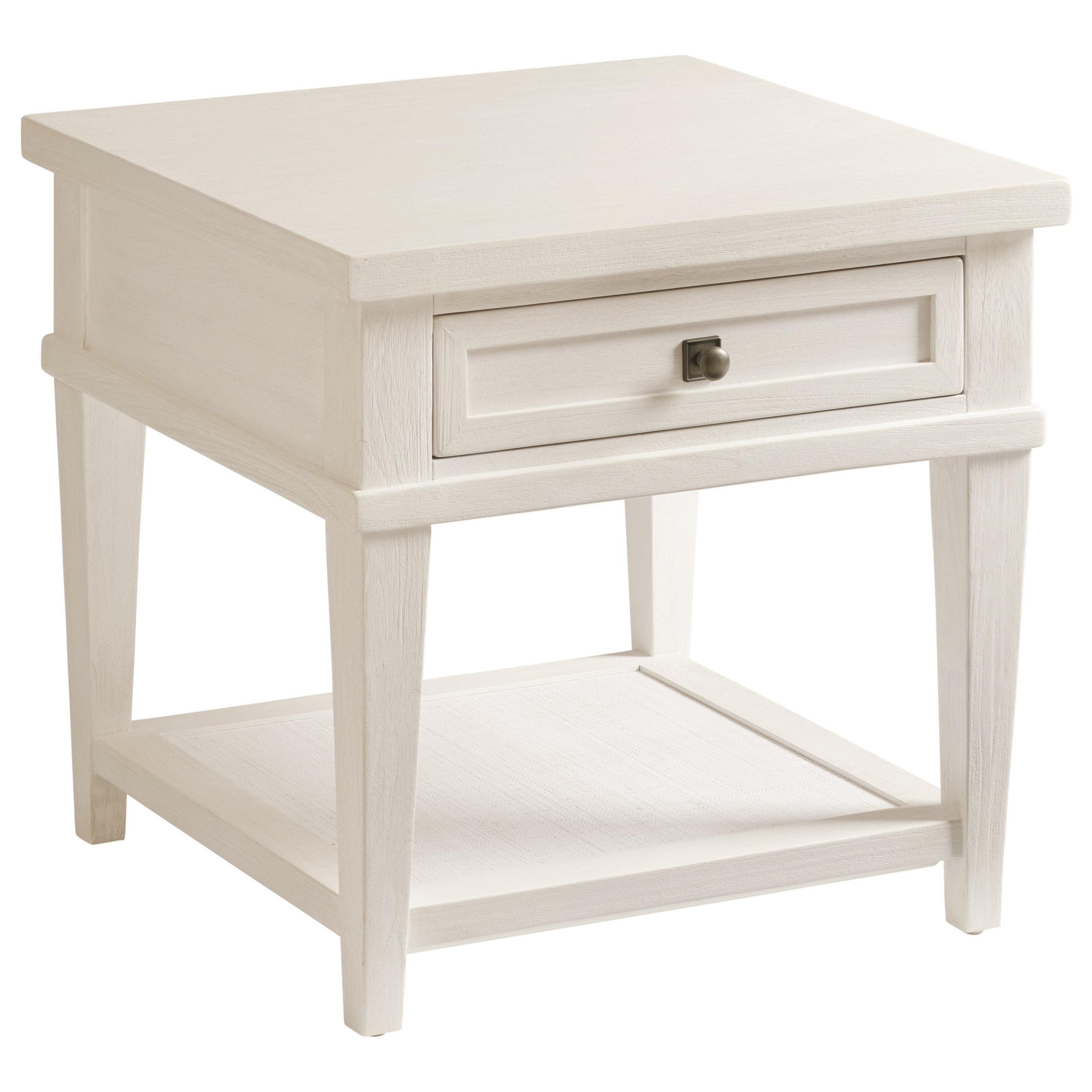 Ocean Breeze Palm Coast Square End Table by Tommy Bahama Home at Baer's Furniture