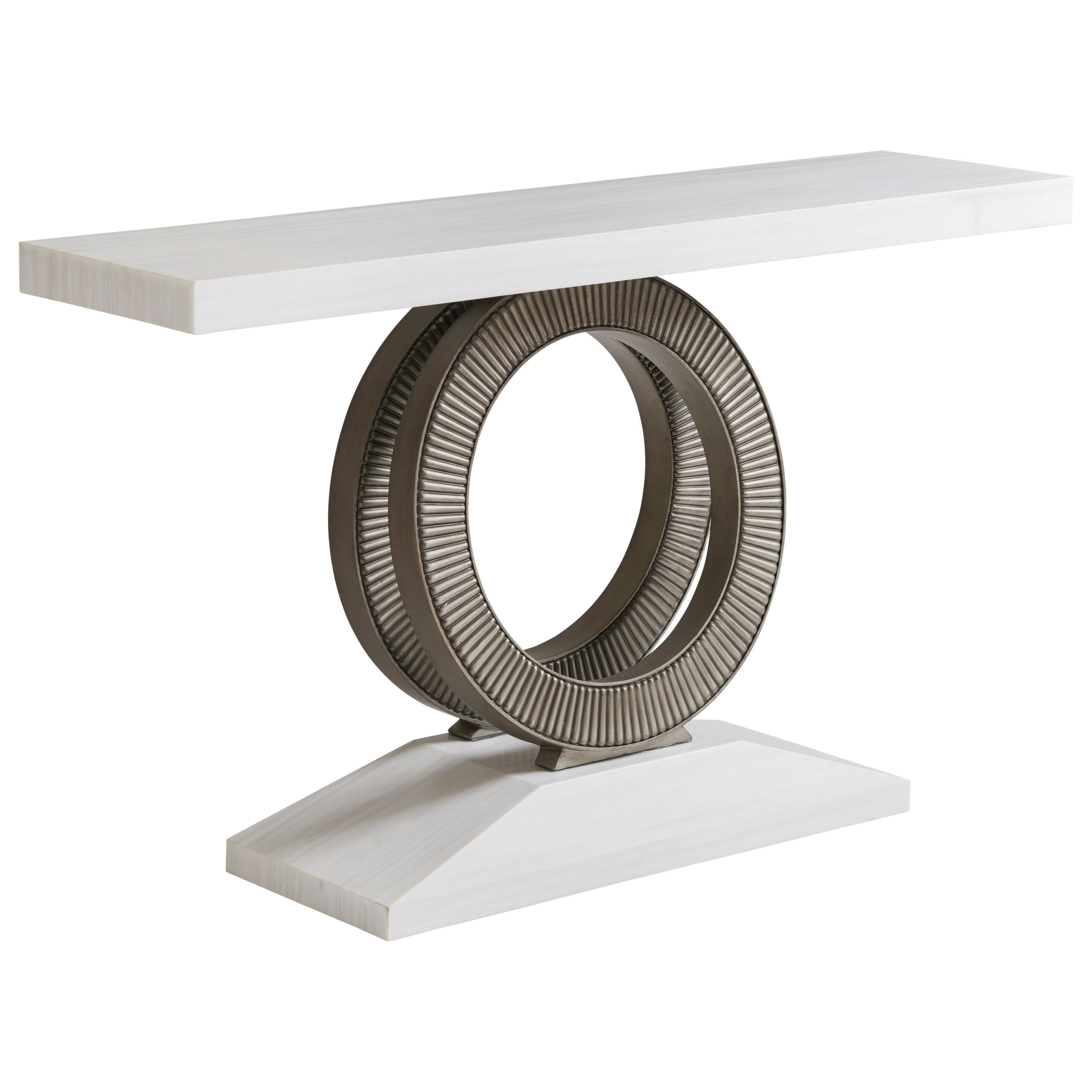 Ocean Breeze Wayfarer Stone Top Console by Tommy Bahama Home at Baer's Furniture