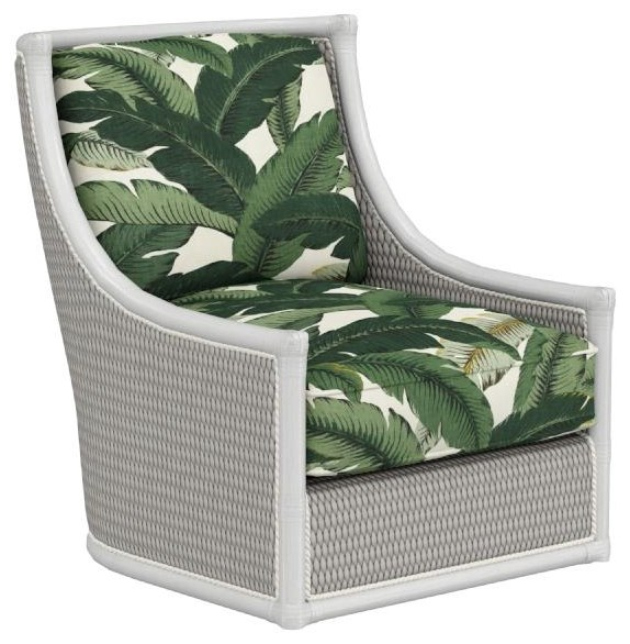 Ocean Breeze Preston Swivel Chair by Tommy Bahama Home at C. S. Wo & Sons Hawaii