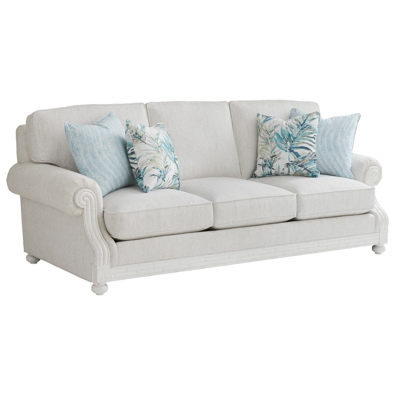 Ocean Breeze Coral Gables Sofa by Tommy Bahama Home at Baer's Furniture