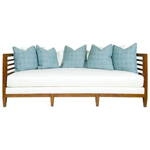Exposed Wood St. Lucia Sofa