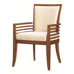 Tommy Bahama Home Ocean Club <b>Quick Ship</b> Kowloon Arm Chair