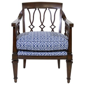 Ginger Exposed Wood Chair