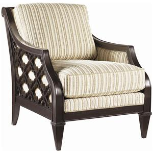 Tommy Bahama Home Royal Kahala Bay Club Chair