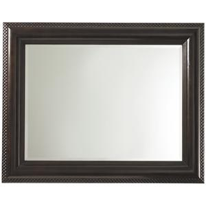 Landscape Mirror with Textured Frame