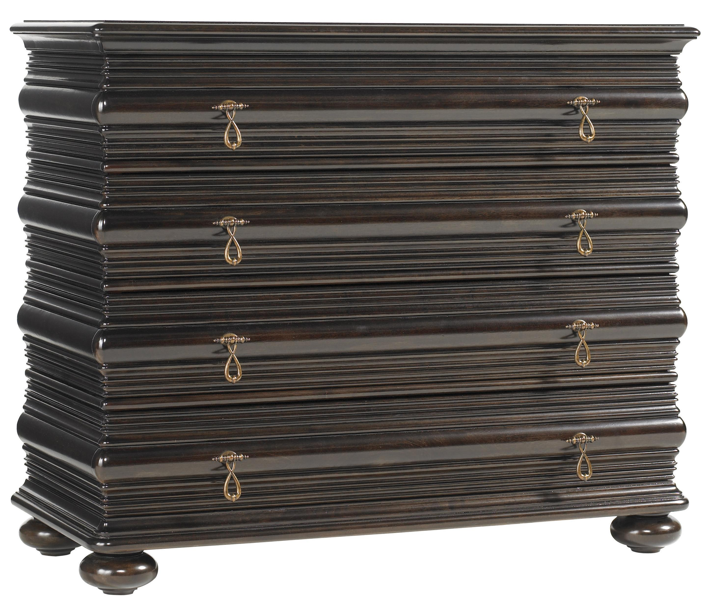 Royal Kahala Black Sands Night Chest by Tommy Bahama Home at Baer's Furniture