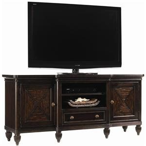 Maui Entertainment Console with Bamboo Accents