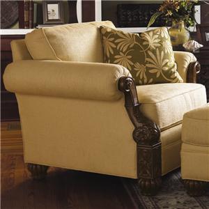 Tommy Bahama Home Tommy Bahama Upholstery Benoa Harbour Chair Custom