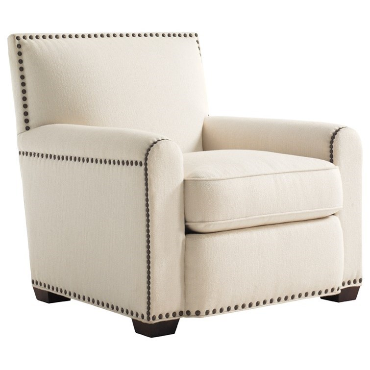 Tommy Bahama Upholstery Stirling Park Chair by Tommy Bahama Home at Baer's Furniture