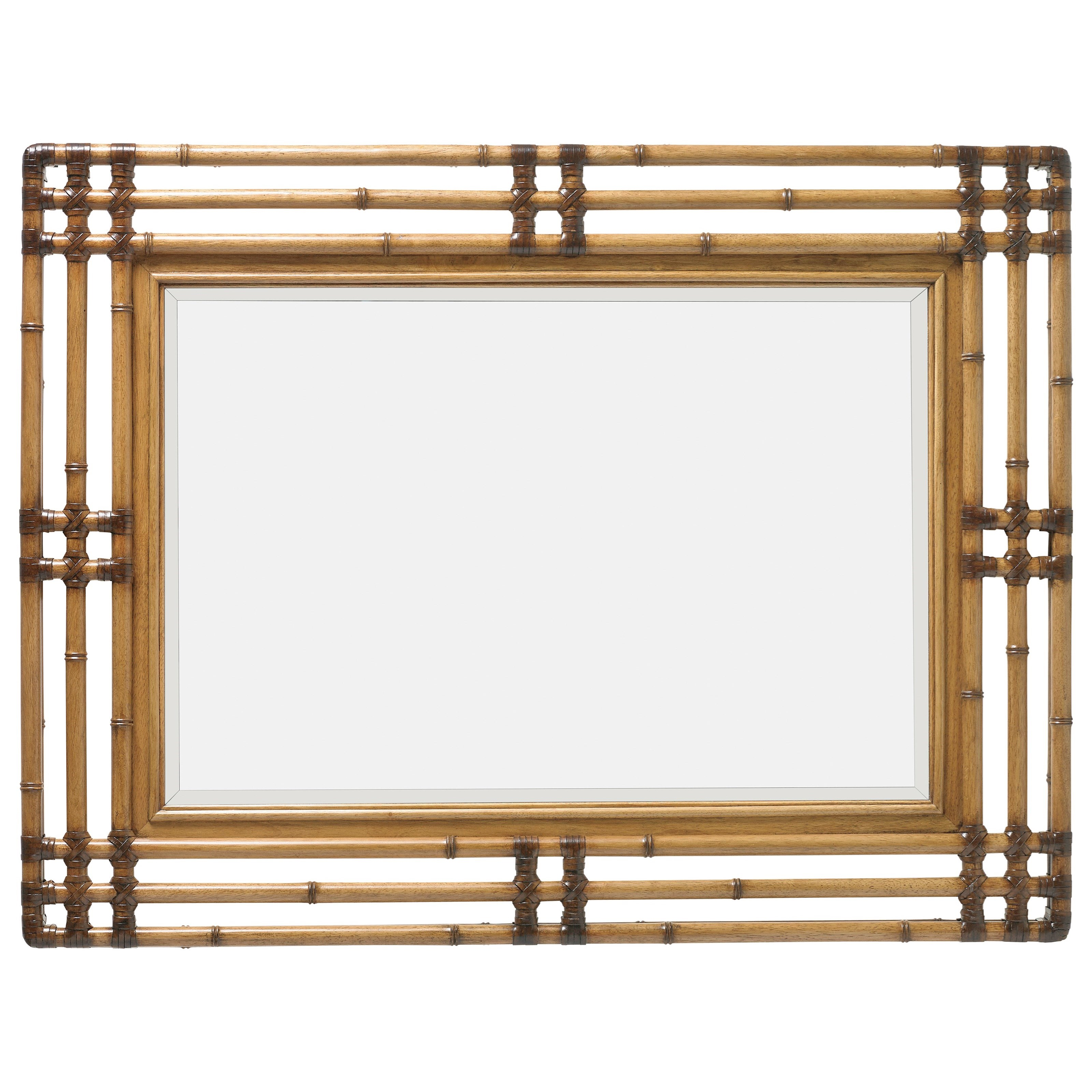 Twin Palms Savana Mirror by Tommy Bahama Home at Baer's Furniture