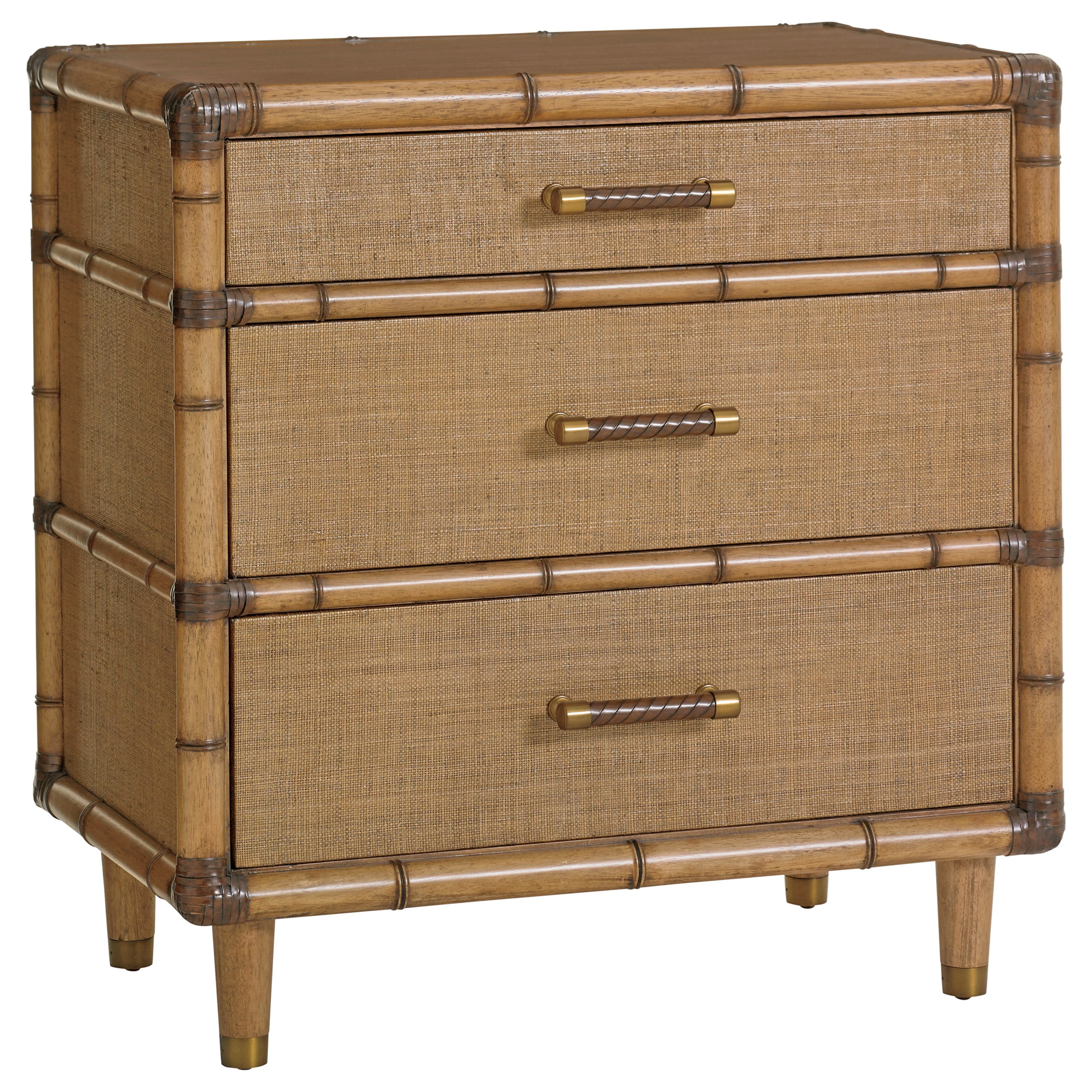 Twin Palms Parrot Cay Nightstand by Tommy Bahama Home at Baer's Furniture