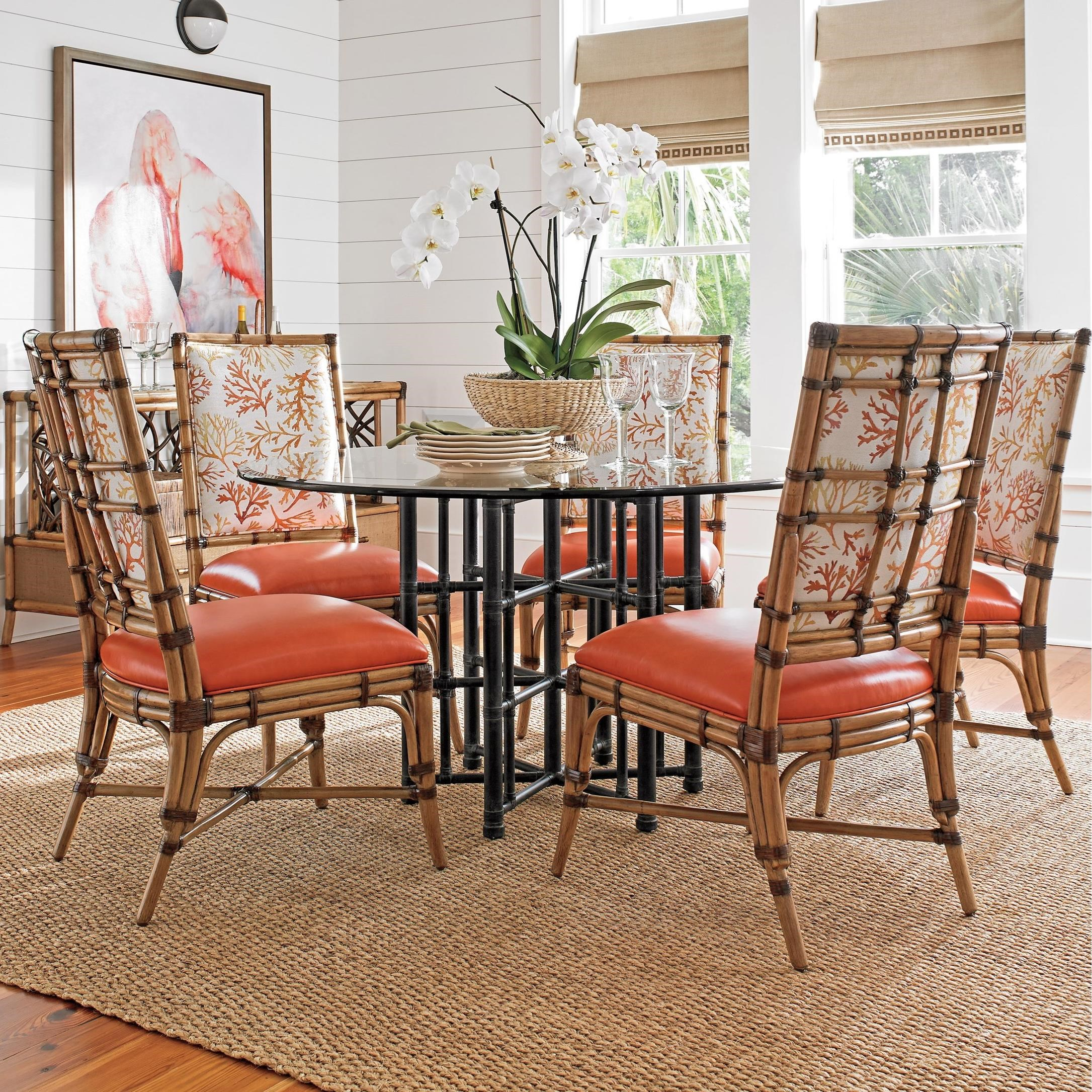Twin Palms 6 Pc Dining Set by Tommy Bahama Home at Baer's Furniture