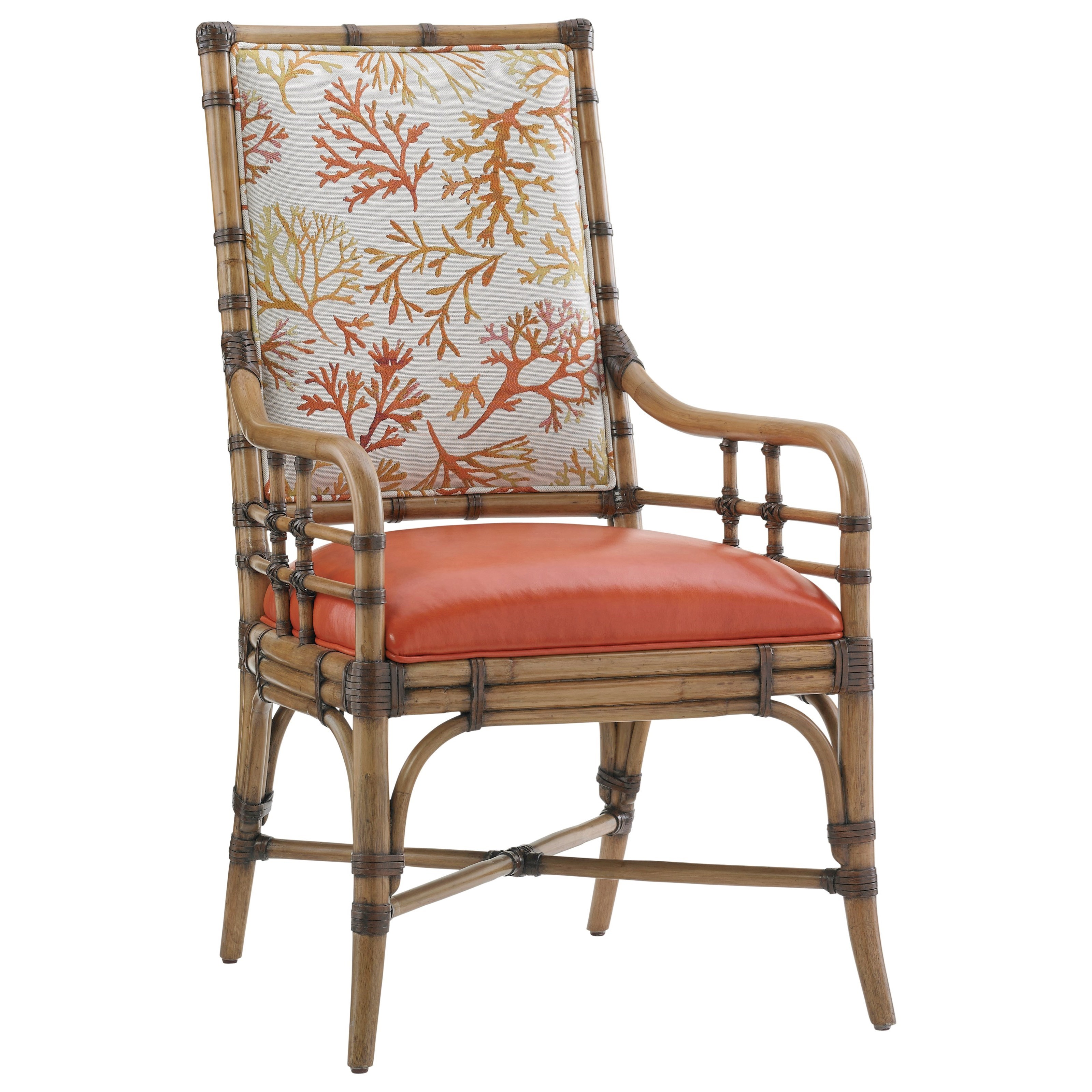 Twin Palms Customizable Summer Isle Arm Chair by Tommy Bahama Home at Baer's Furniture