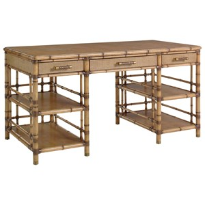 St. Vincent Table Desk with Display Pedestals