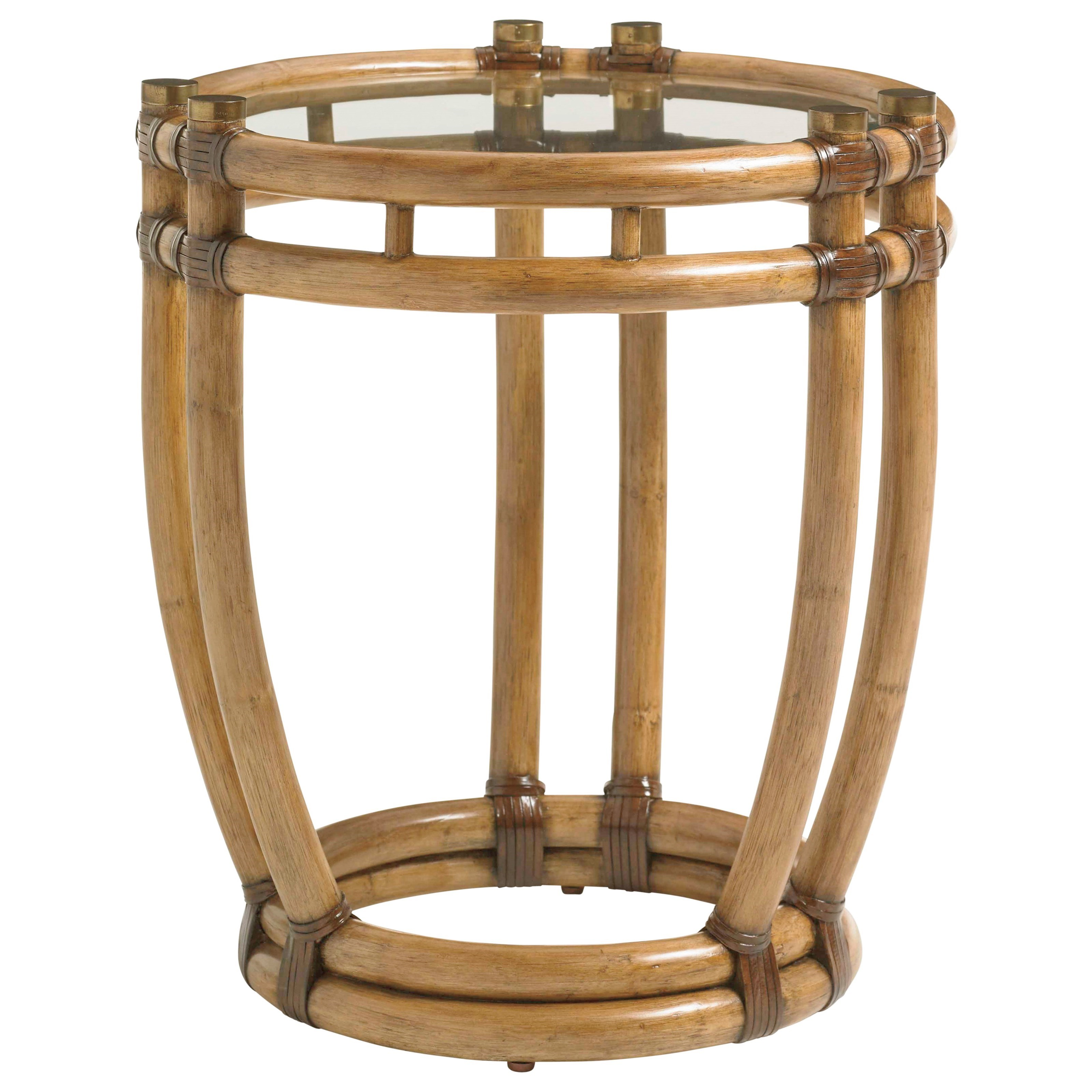 Twin Palms Turtle Beach End Table by Tommy Bahama Home at Baer's Furniture