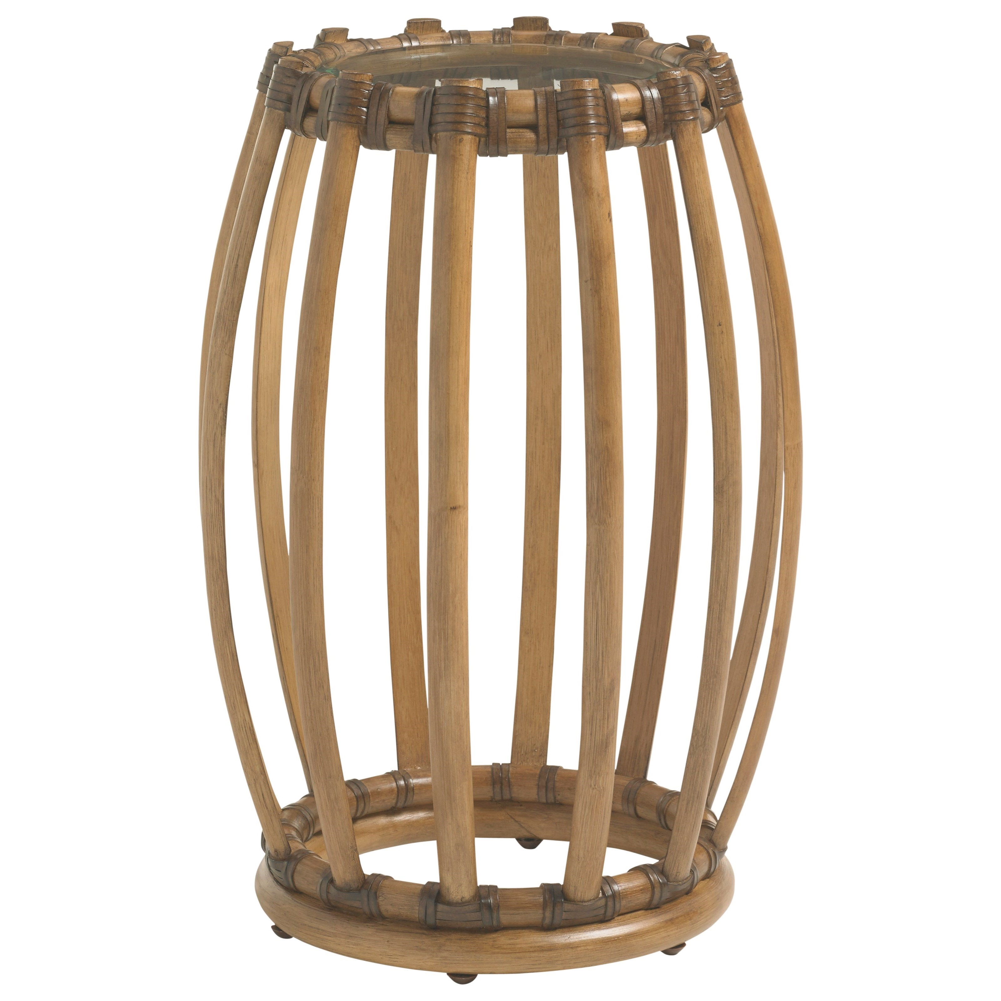 Twin Palms Weston Accent Table by Tommy Bahama Home at Baer's Furniture