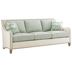 Koko Sofa with Nailhead Border