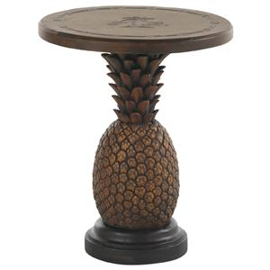 Sienna Pineapple Table with Weatherstone Table Top