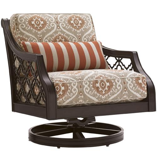 Black Sands Outdoor Swivel Rocker Lounge Chair by Tommy Bahama Outdoor Living at Baer's Furniture
