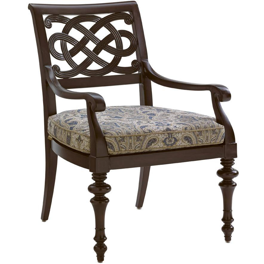 Black Sands Outdoor Dining Arm Chair by Tommy Bahama Outdoor Living at Baer's Furniture