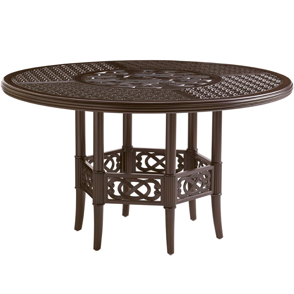 Black Sands Outdoor Round Dining Table by Tommy Bahama Outdoor Living at Baer's Furniture