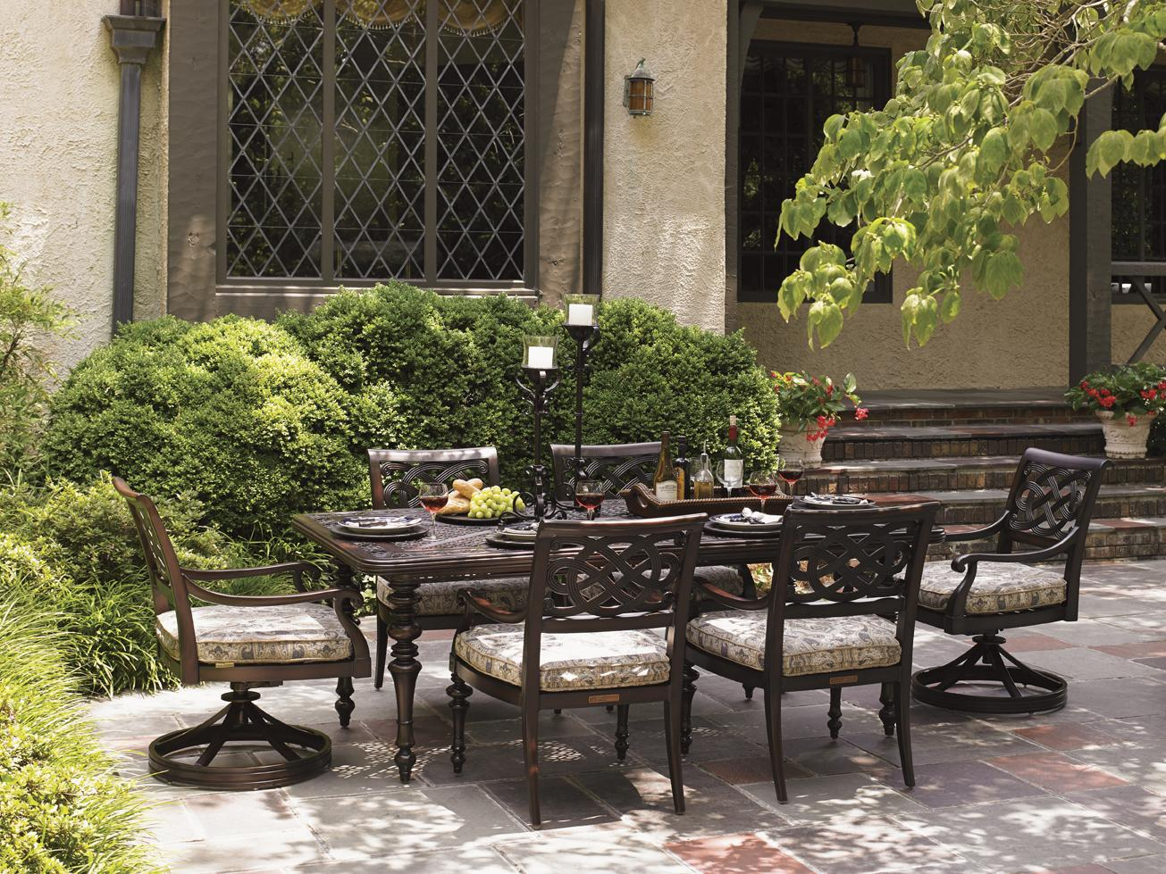 Black Sands Outdoor Dining Set by Tommy Bahama Outdoor Living at Baer's Furniture