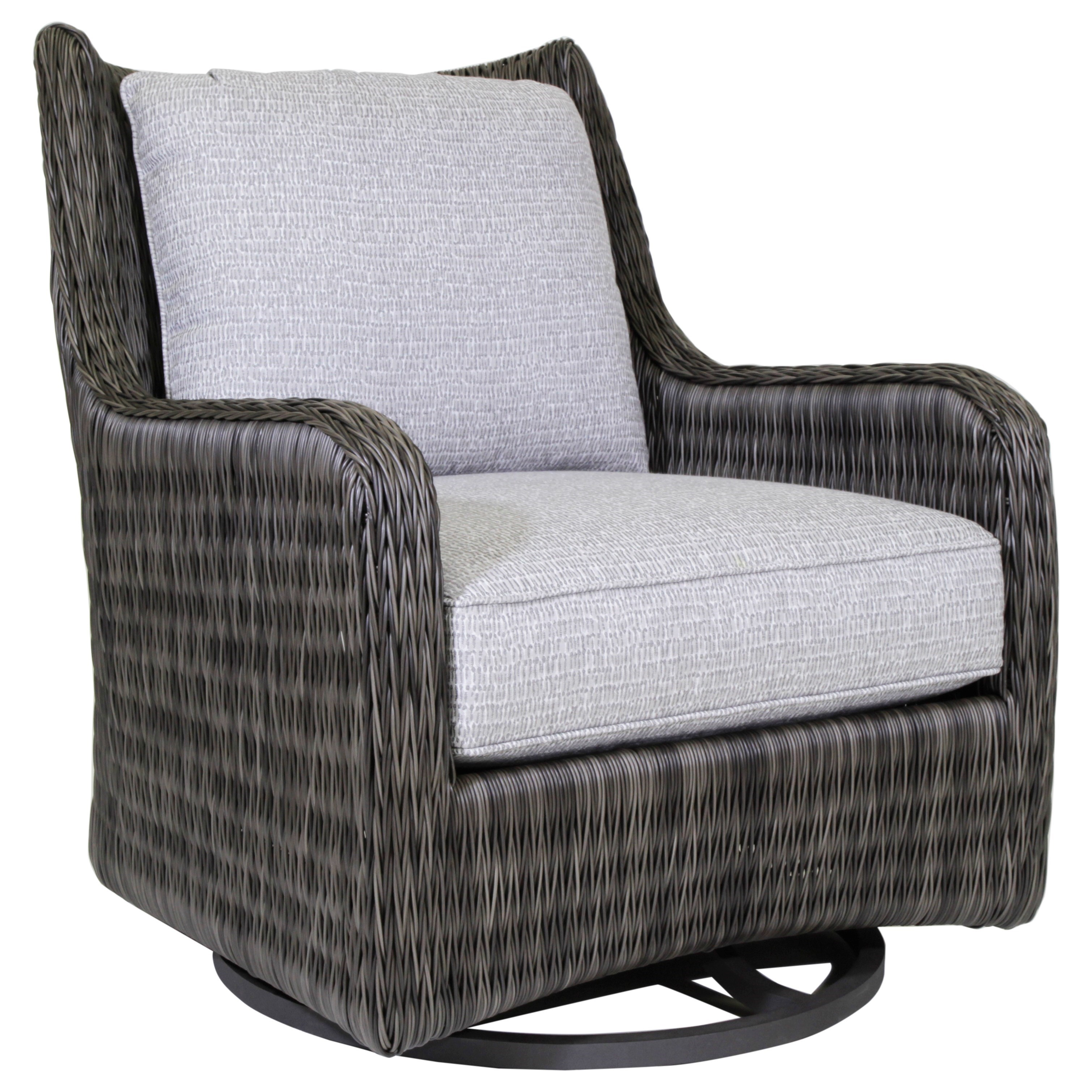 Cypress Point Ocean Terrace Outdoor Swivel Glider by Tommy Bahama Outdoor Living at C. S. Wo & Sons Hawaii
