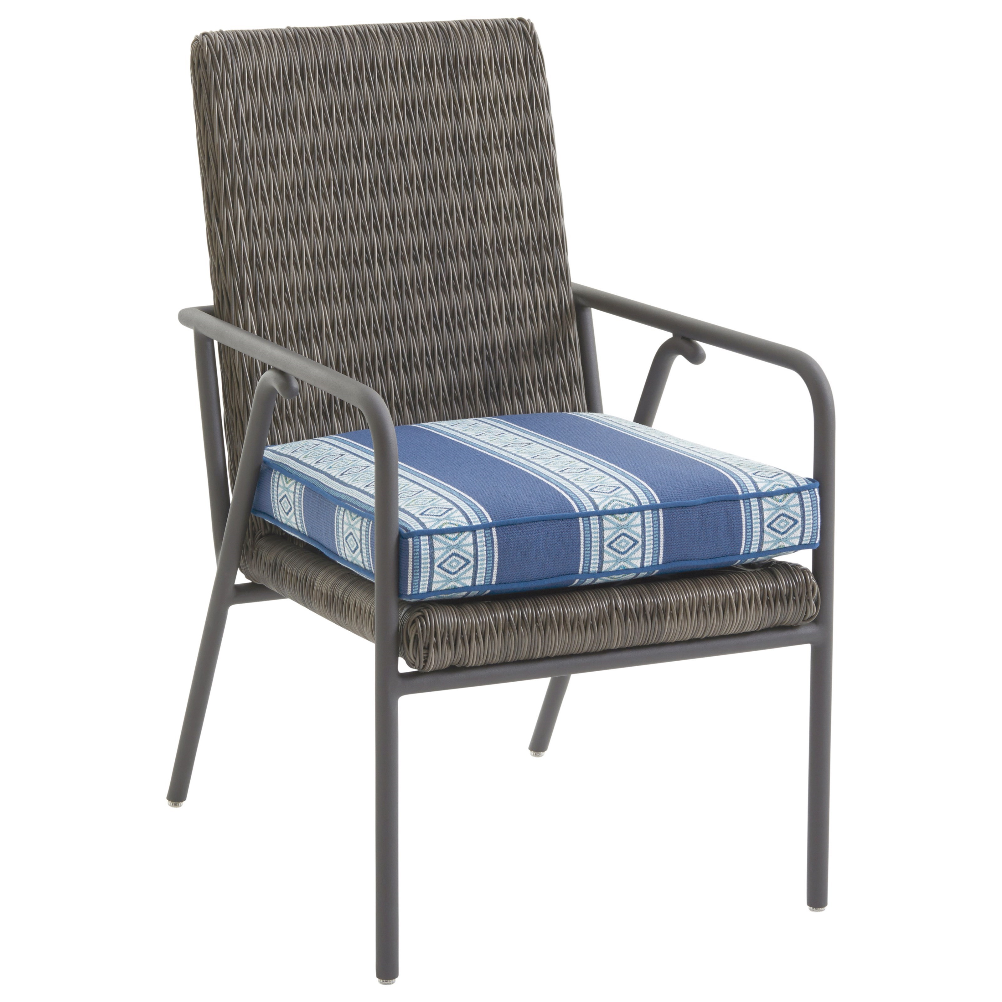 Cypress Point Ocean Terrace Small Outdoor Dining Chair by Tommy Bahama Outdoor Living at Baer's Furniture