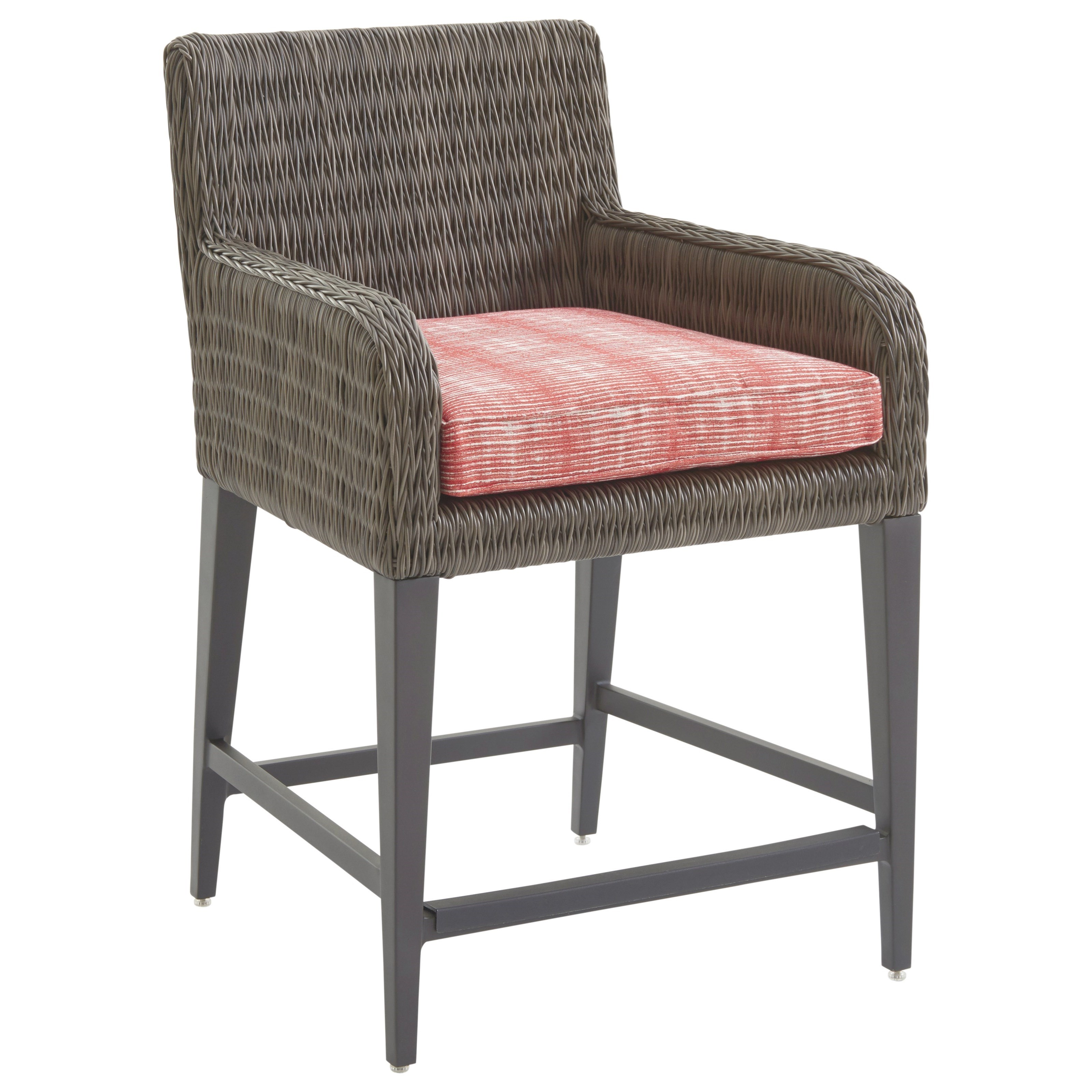Cypress Point Ocean Terrace Outdoor Counter Stool by Tommy Bahama Outdoor Living at Baer's Furniture