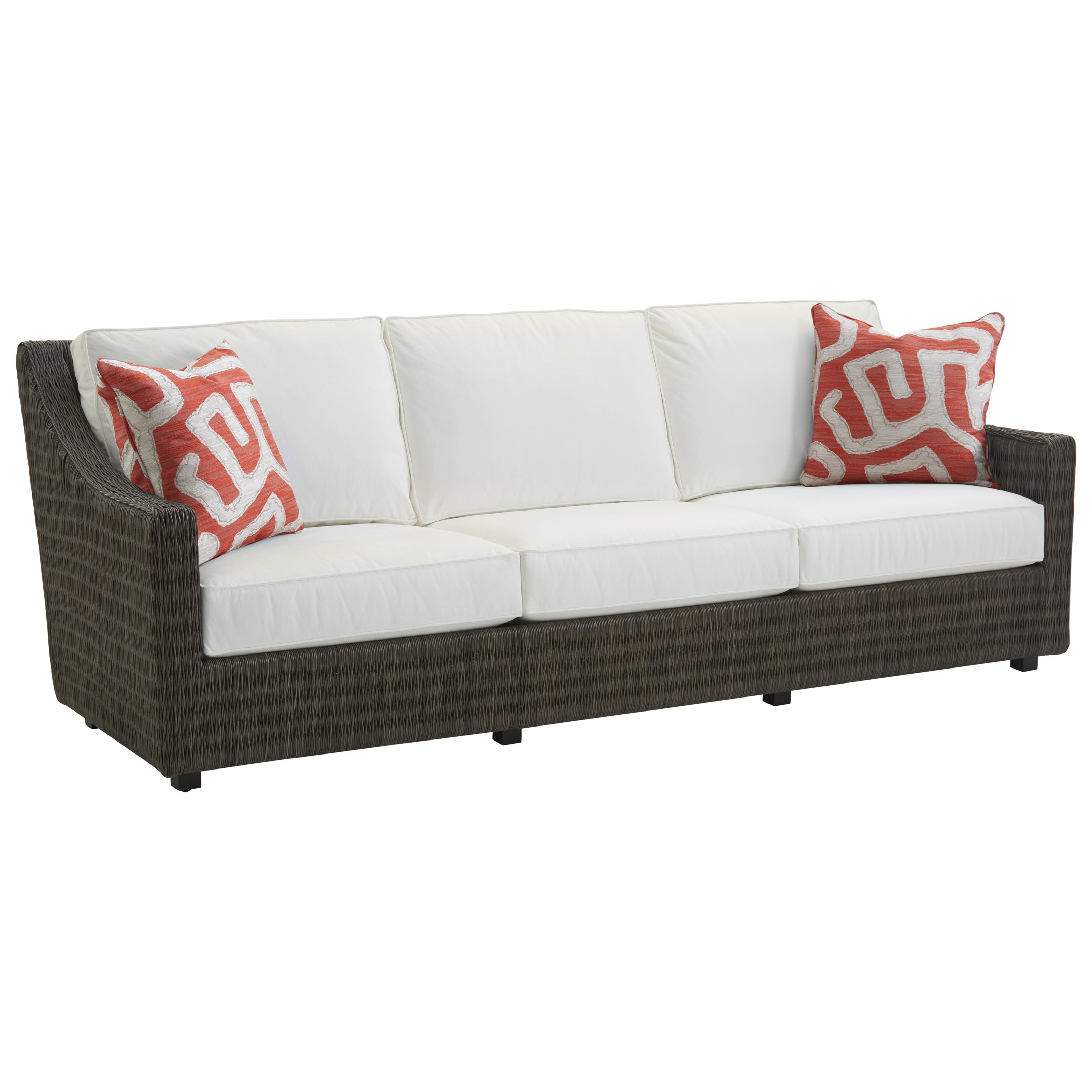 Cypress Point Ocean Terrace Outdoor Sofa by Tommy Bahama Outdoor Living at Baer's Furniture