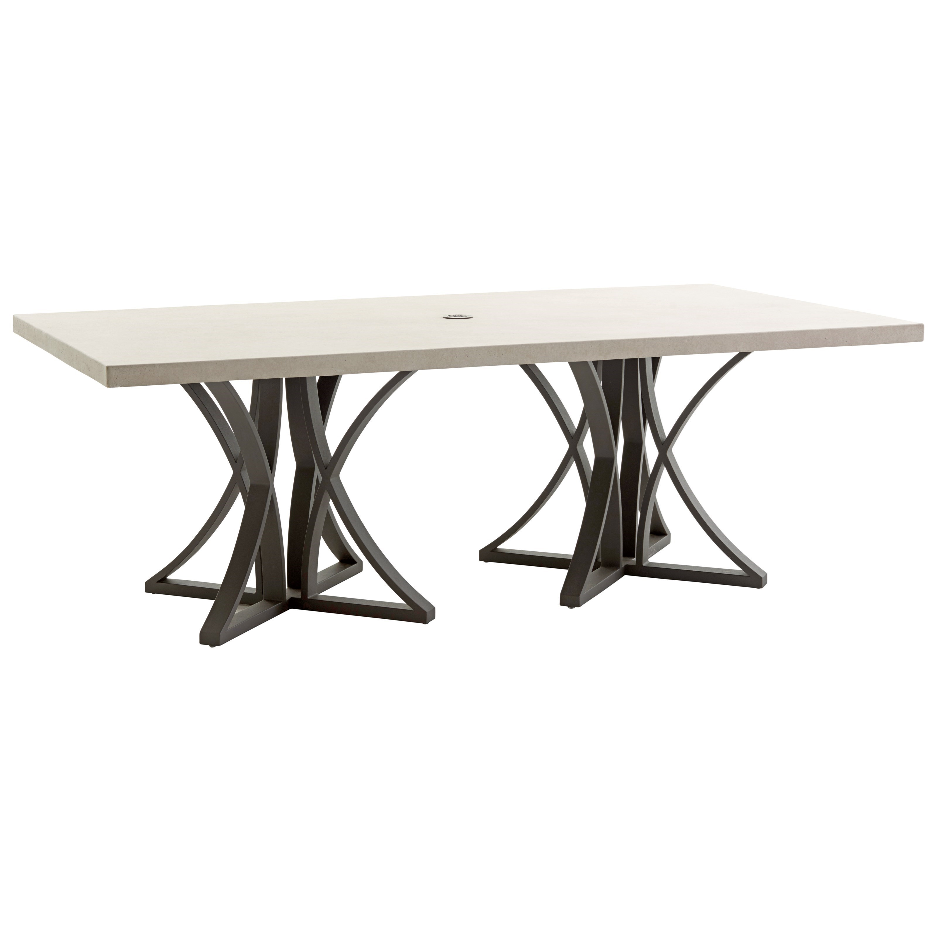 Cypress Point Ocean Terrace Outdoor Rectangular Dining Table by Tommy Bahama Outdoor Living at Baer's Furniture