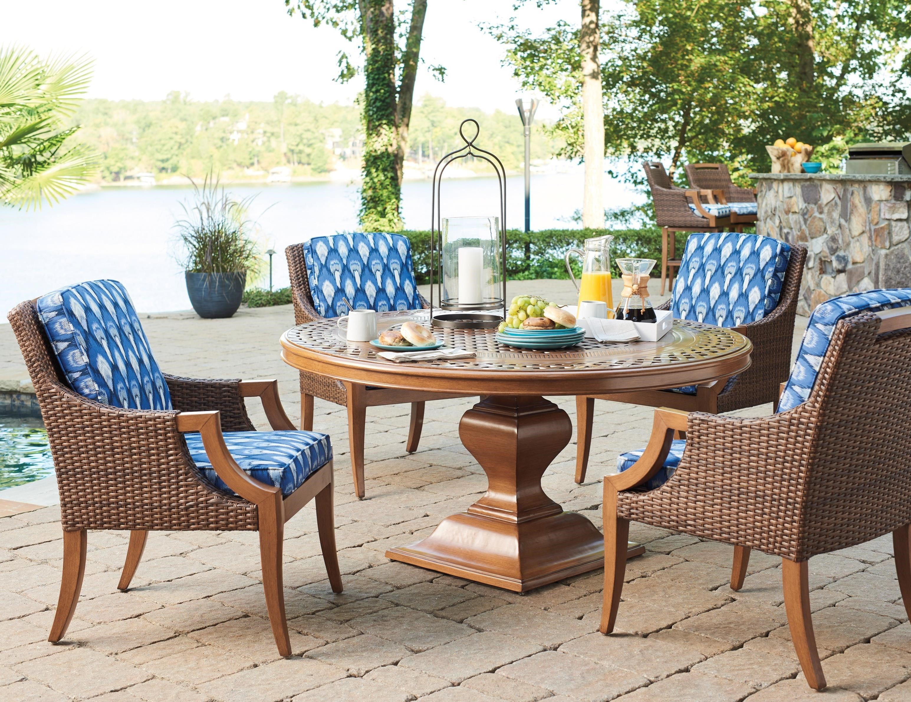 Harbor Isle 5-Piece Outdoor Dining Set by Tommy Bahama Outdoor Living at Baer's Furniture
