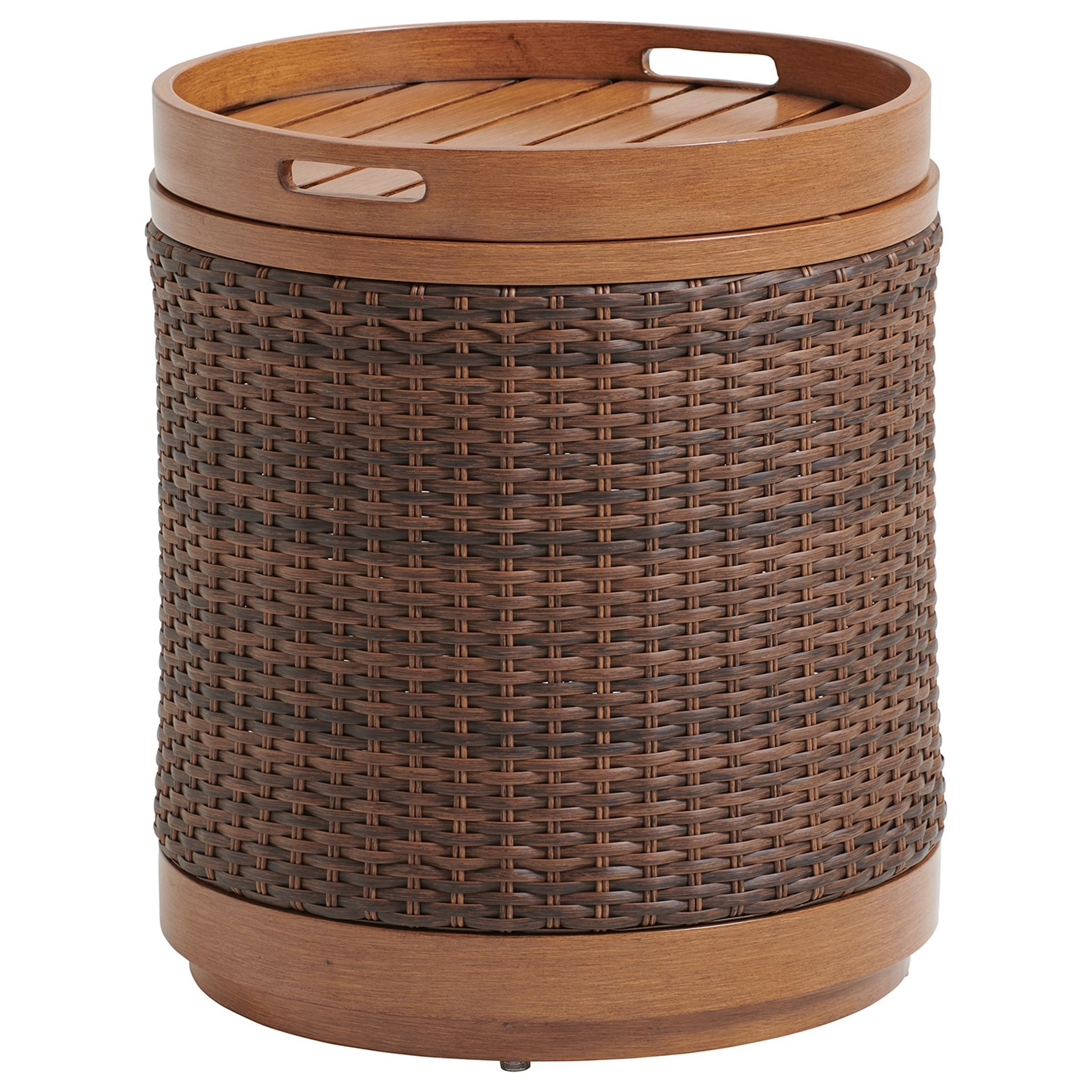 Harbor Isle Round End Table by Tommy Bahama Outdoor Living at Baer's Furniture