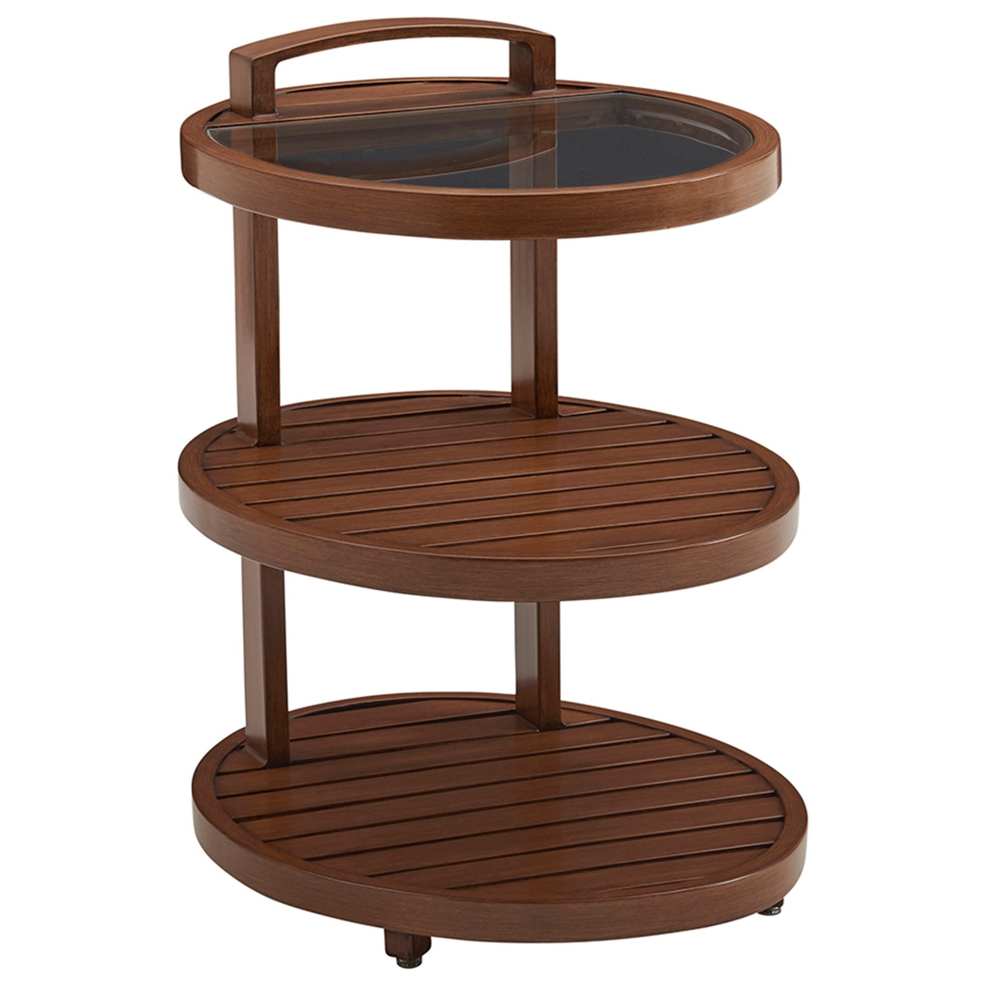 Harbor Isle Tiered End Table by Tommy Bahama Outdoor Living at Baer's Furniture