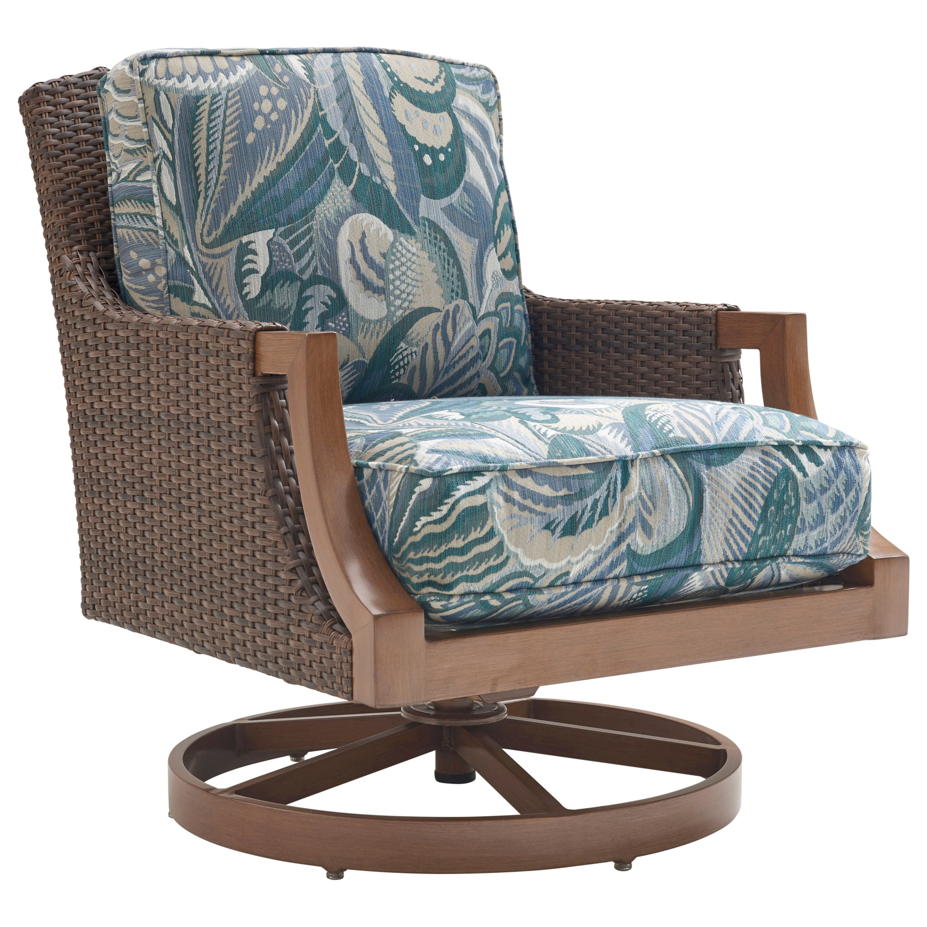 Harbor Isle Swivel Rocker Lounge Chair by Tommy Bahama Outdoor Living at Baer's Furniture