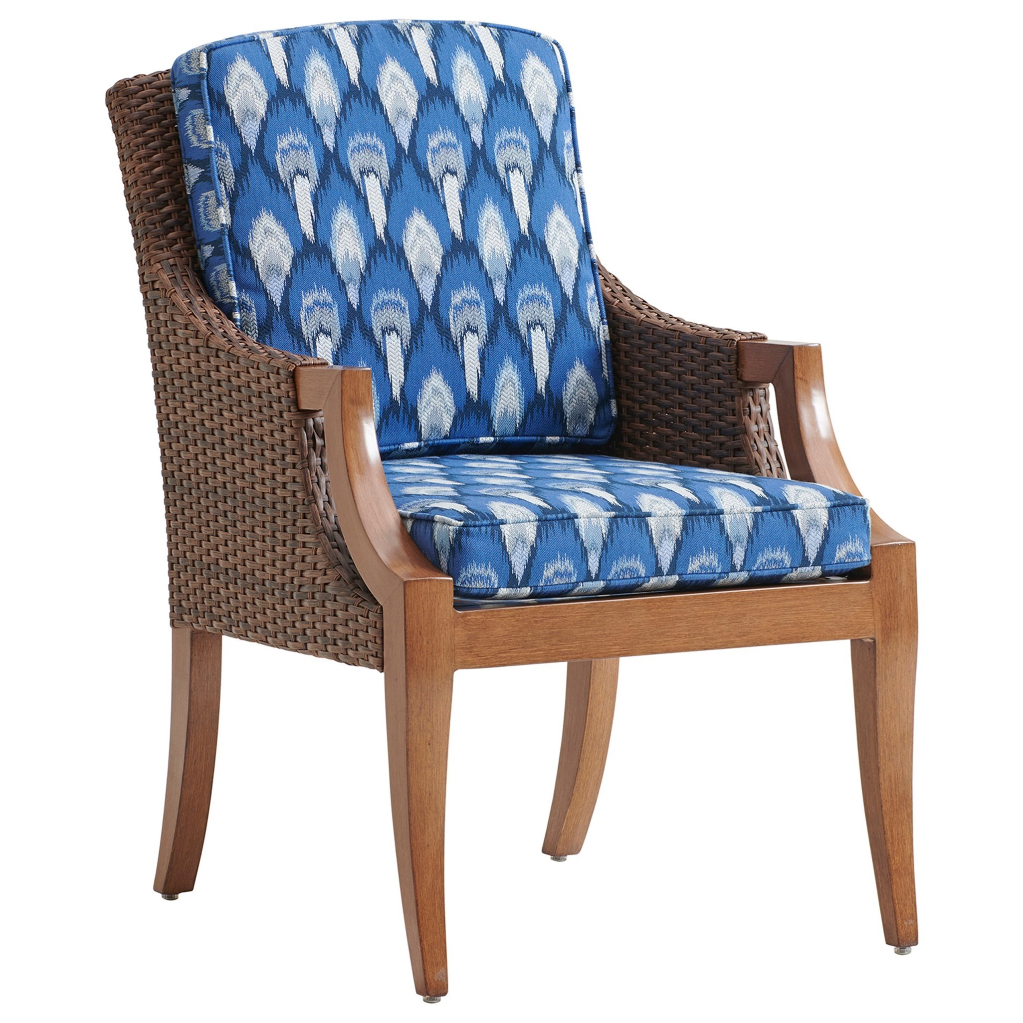 Harbor Isle Dining Arm Chair by Tommy Bahama Outdoor Living at Baer's Furniture