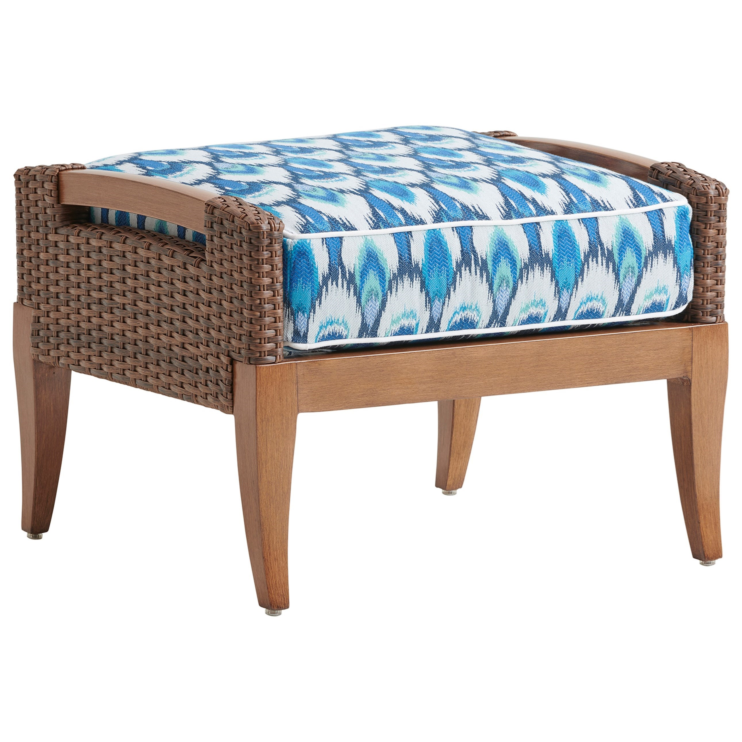 Harbor Isle Ottoman by Tommy Bahama Outdoor Living at Baer's Furniture