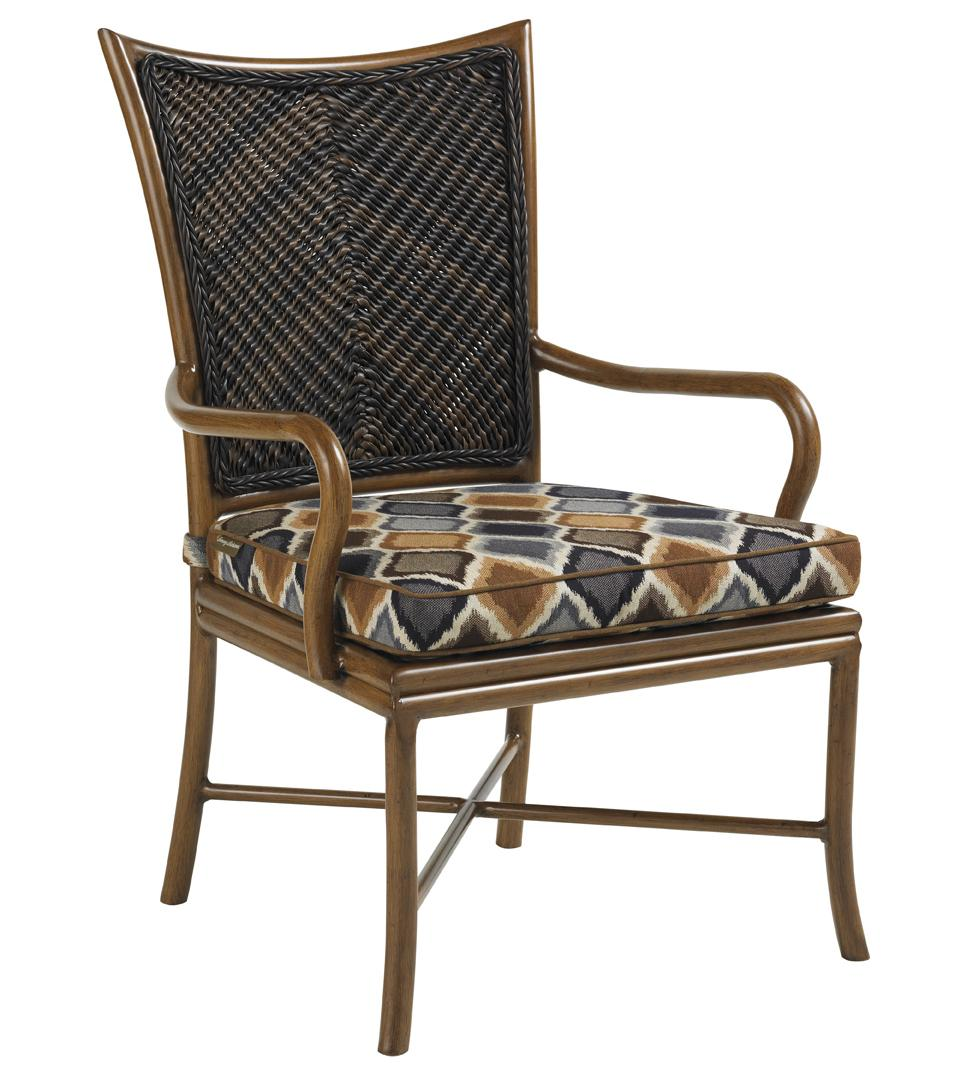 Island Estate Lanai Outdoor Dining Arm Chair by Tommy Bahama Outdoor Living at Baer's Furniture