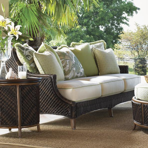 Island Estate Lanai Outdoor Scatterback Sofa by Tommy Bahama Outdoor Living at Baer's Furniture
