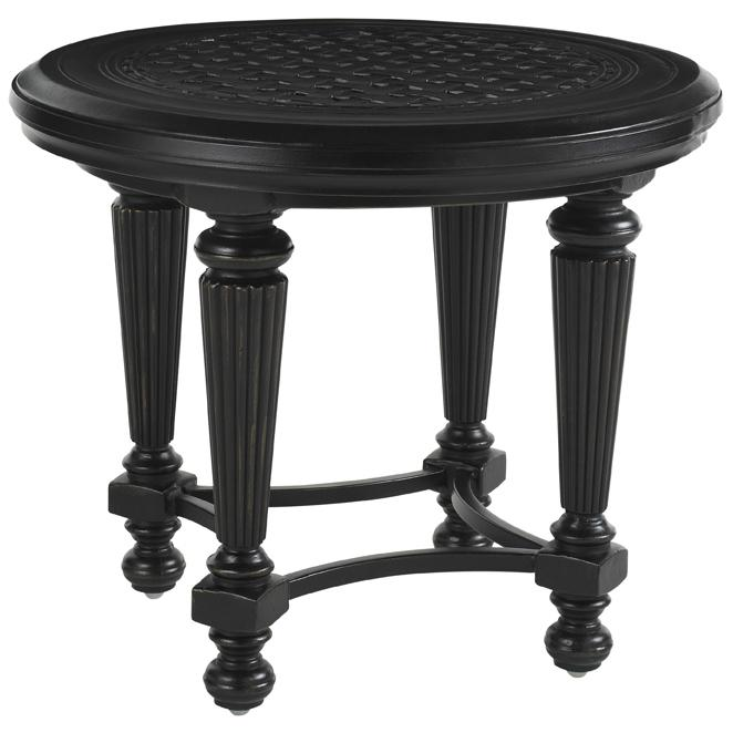 Kingstown Sedona Round End Table by Tommy Bahama Outdoor Living at Baer's Furniture