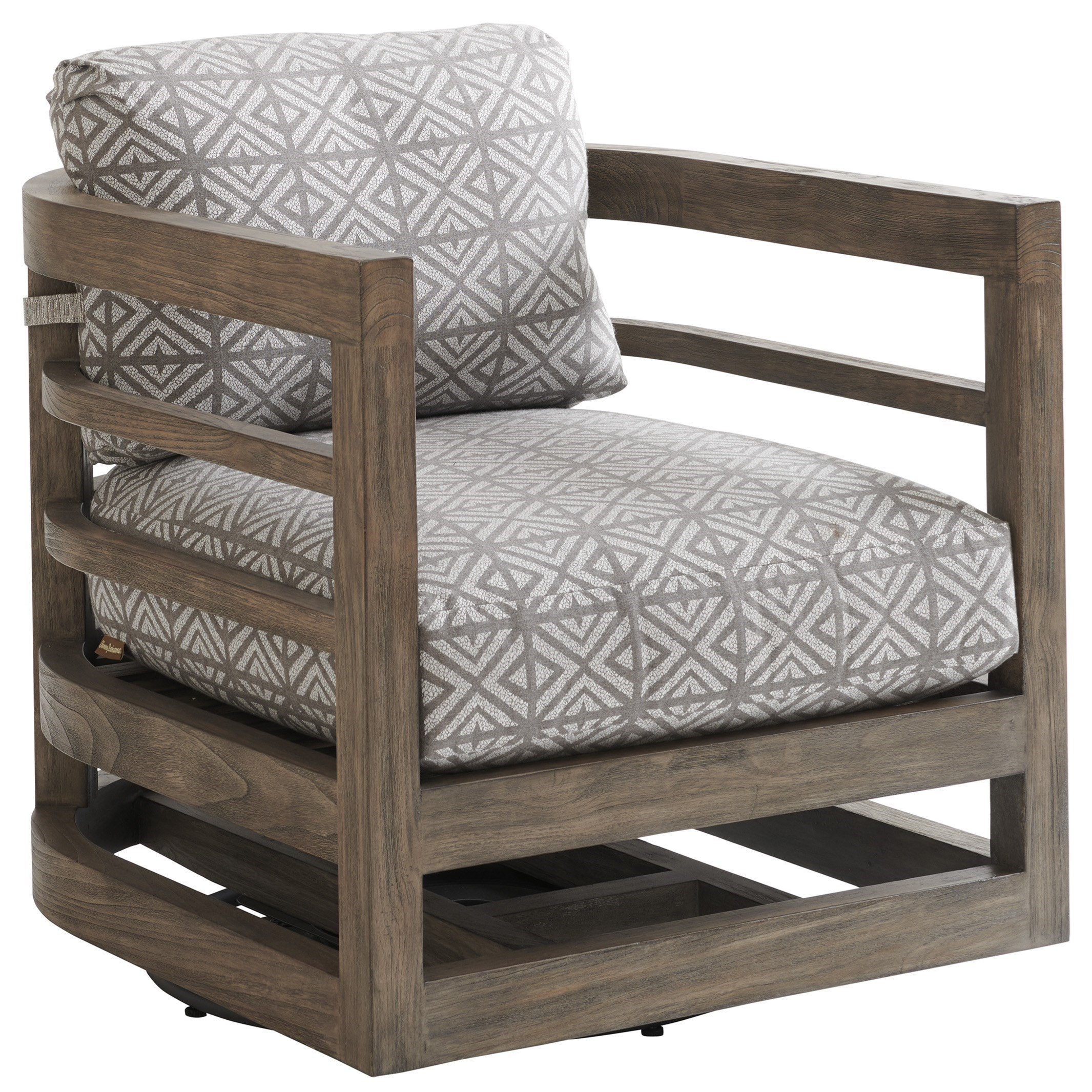 La Jolla Swivel Chair by Tommy Bahama Outdoor Living at Baer's Furniture