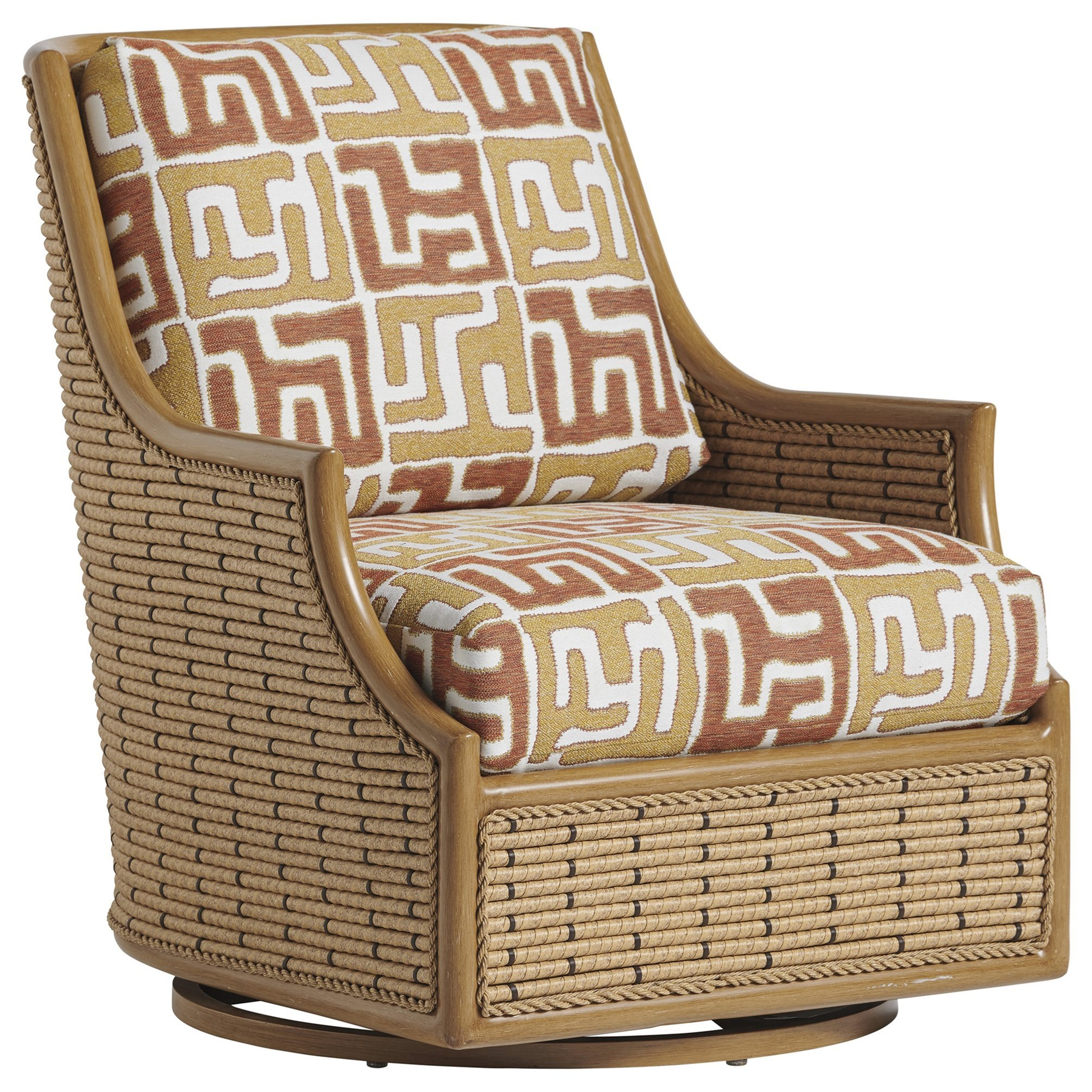 Los Altos Valley View Swivel Glider Occasional Chair by Tommy Bahama Outdoor Living at Baer's Furniture