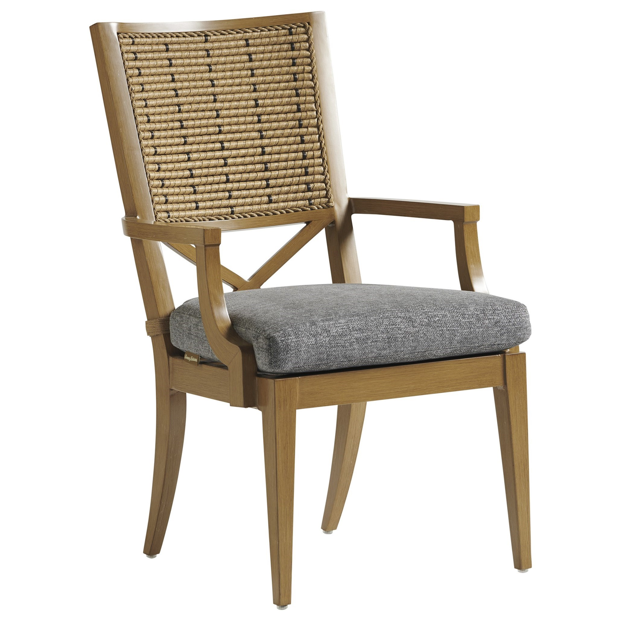 Los Altos Valley View Arm Dining Chair by Tommy Bahama Outdoor Living at Baer's Furniture