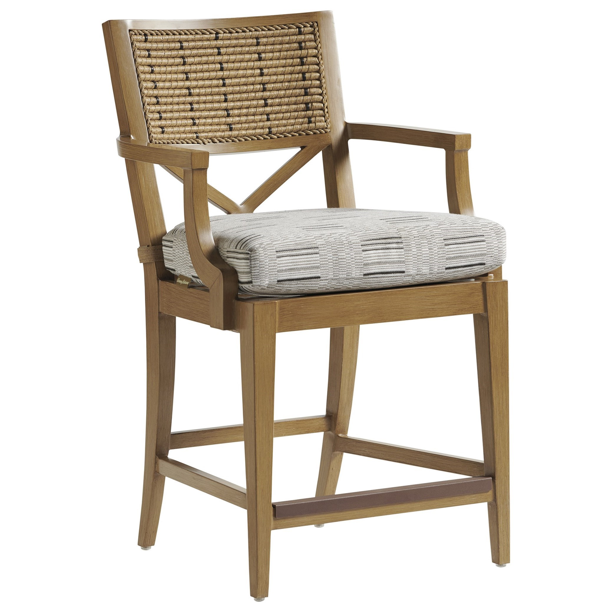Los Altos Valley View Counter Stool by Tommy Bahama Outdoor Living at Baer's Furniture