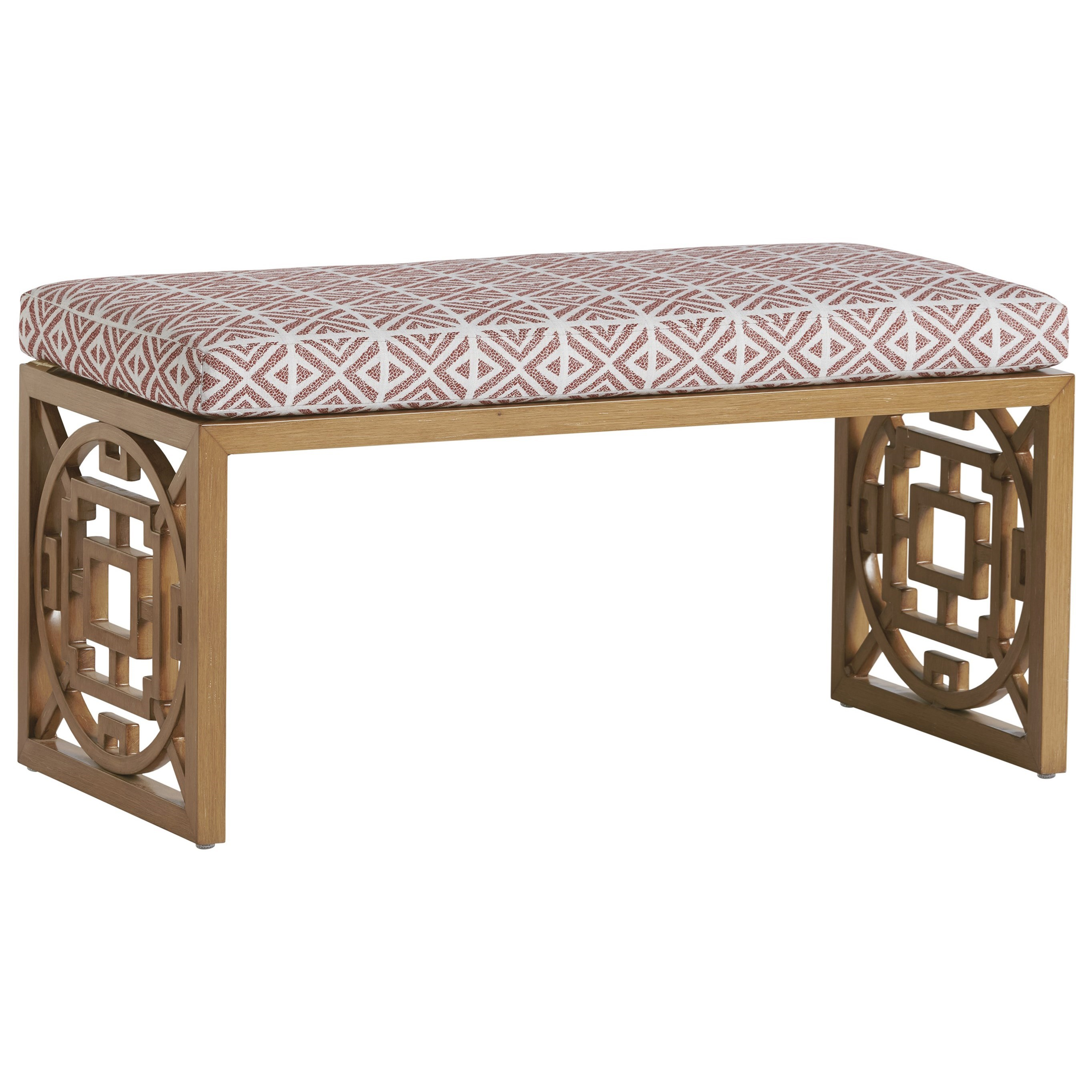Los Altos Valley View Bench by Tommy Bahama Outdoor Living at Baer's Furniture