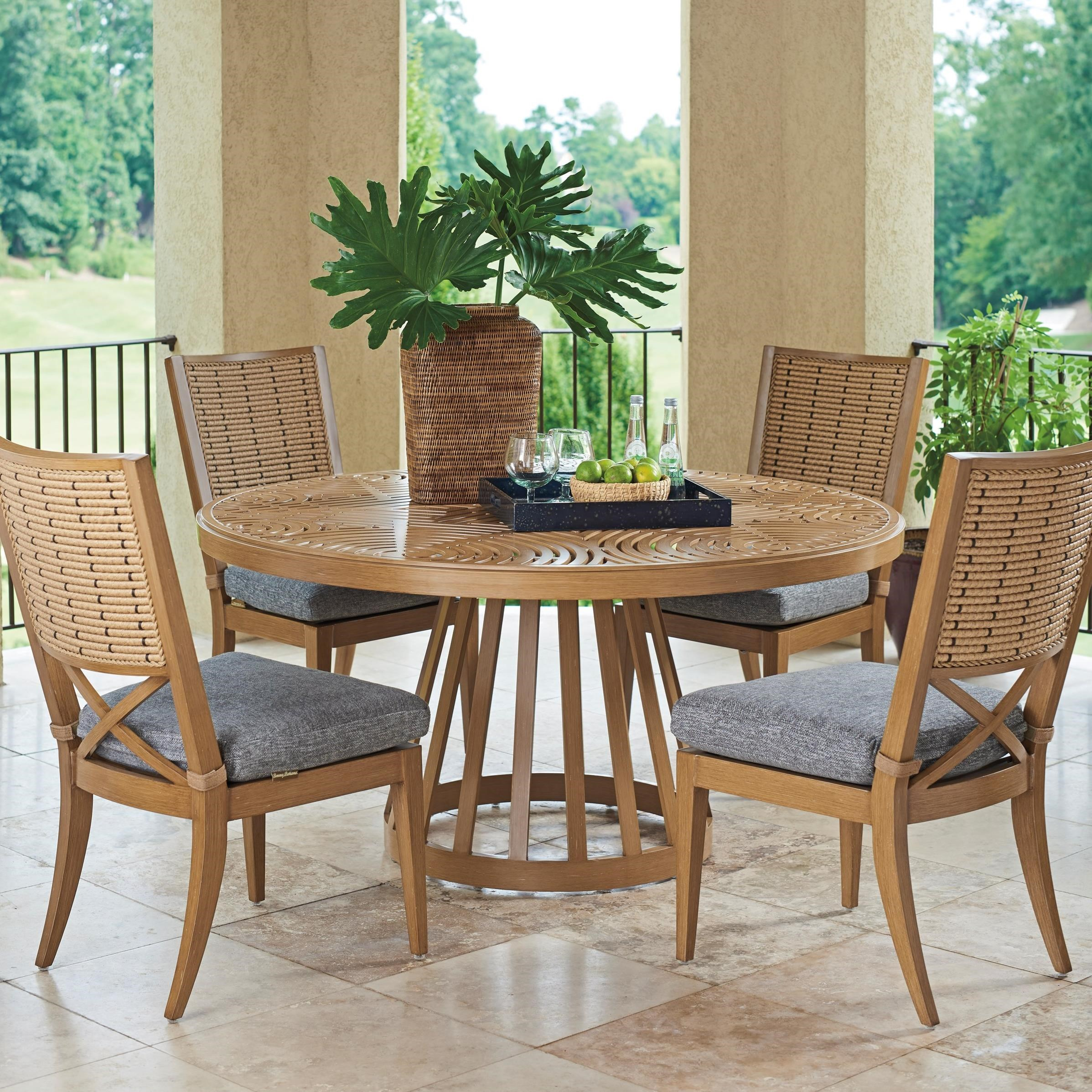 Los Altos Valley View 5-Piece Outdoor Dining Set by Tommy Bahama Outdoor Living at Baer's Furniture