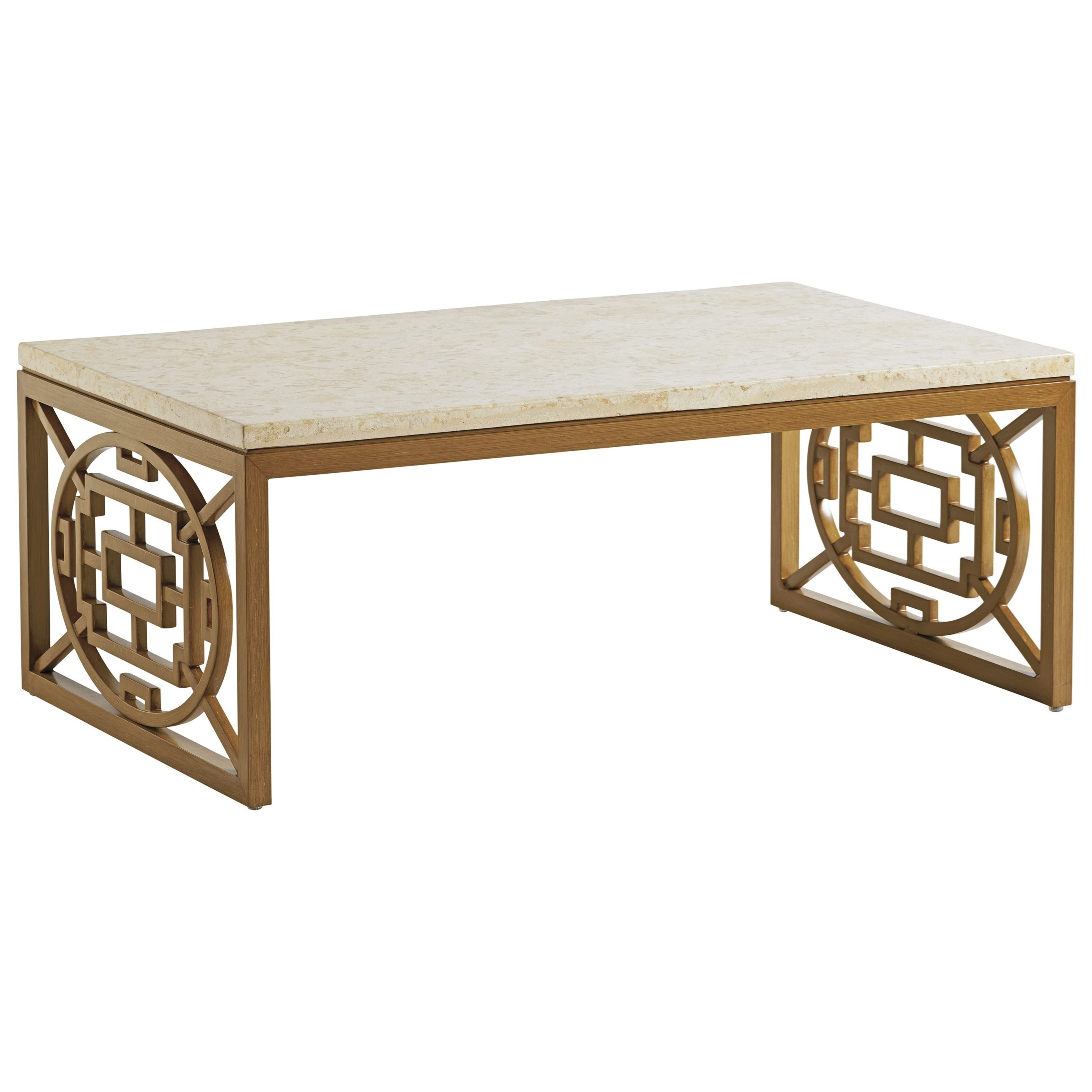 Los Altos Valley View Rectangular Cocktail Table by Tommy Bahama Outdoor Living at Baer's Furniture