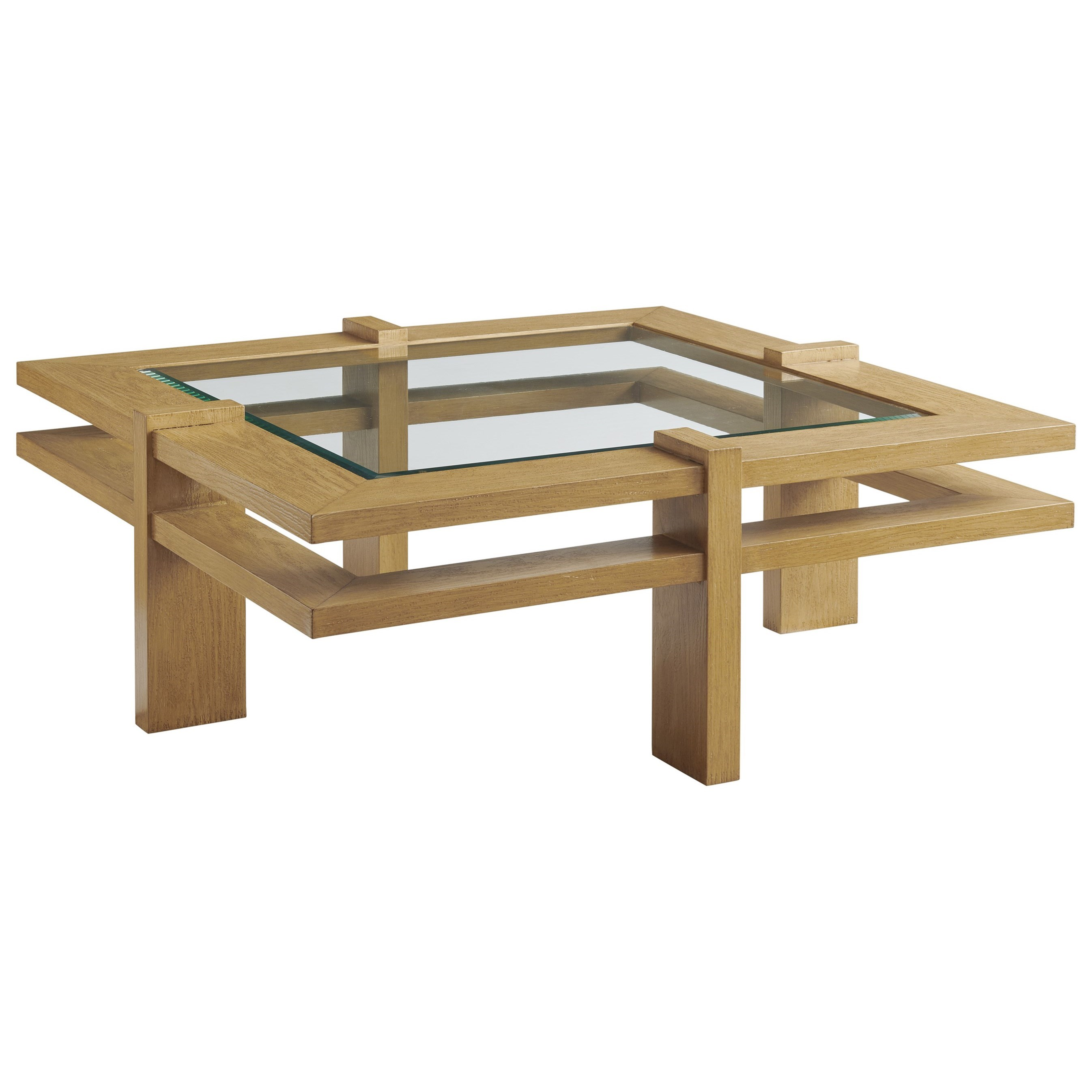 Los Altos Valley View Square Cocktail Table by Tommy Bahama Outdoor Living at Baer's Furniture