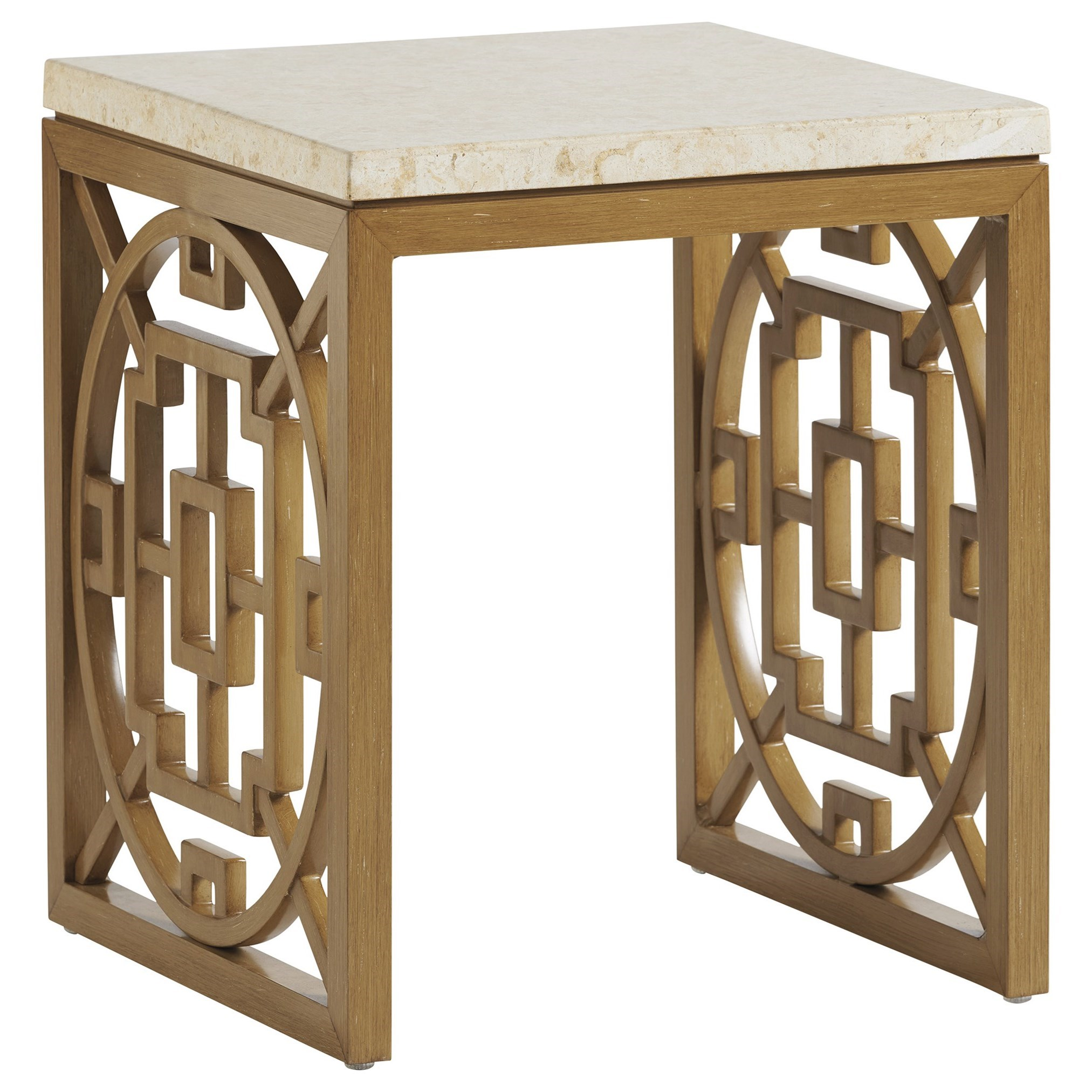 Los Altos Valley View Rectangular End Table by Tommy Bahama Outdoor Living at Baer's Furniture